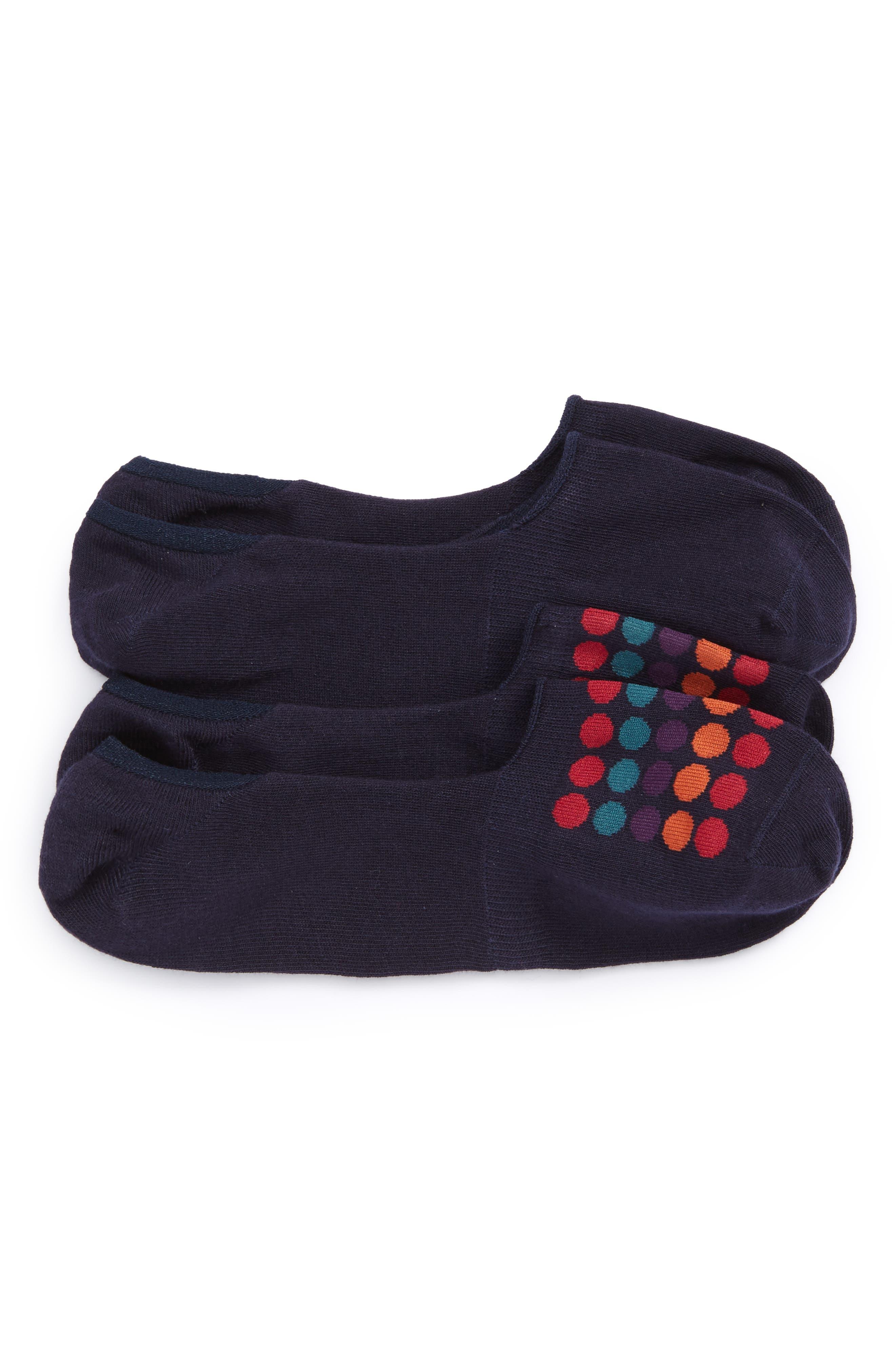 Calibrate 2-Pack Cotton Blend Liner Socks (3 for $30)