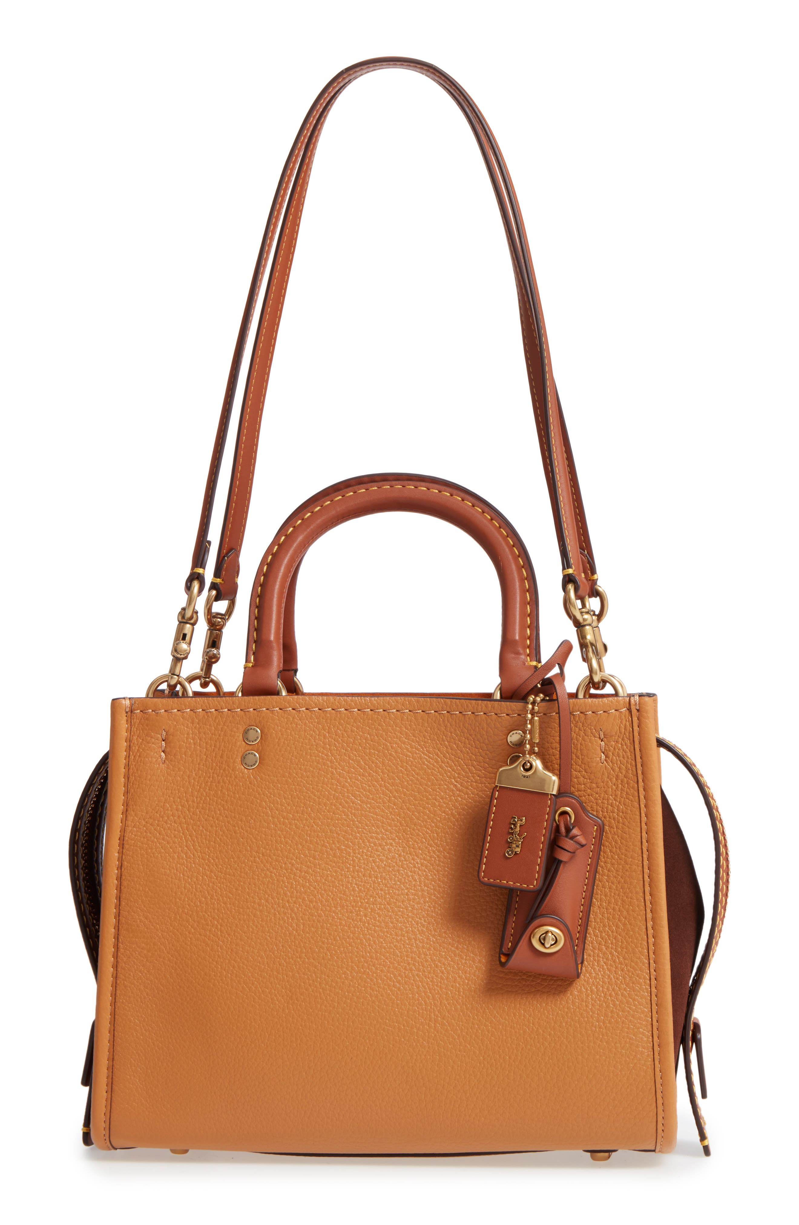 COACH 1941 Rogue 25 Mixed Leather Satchel