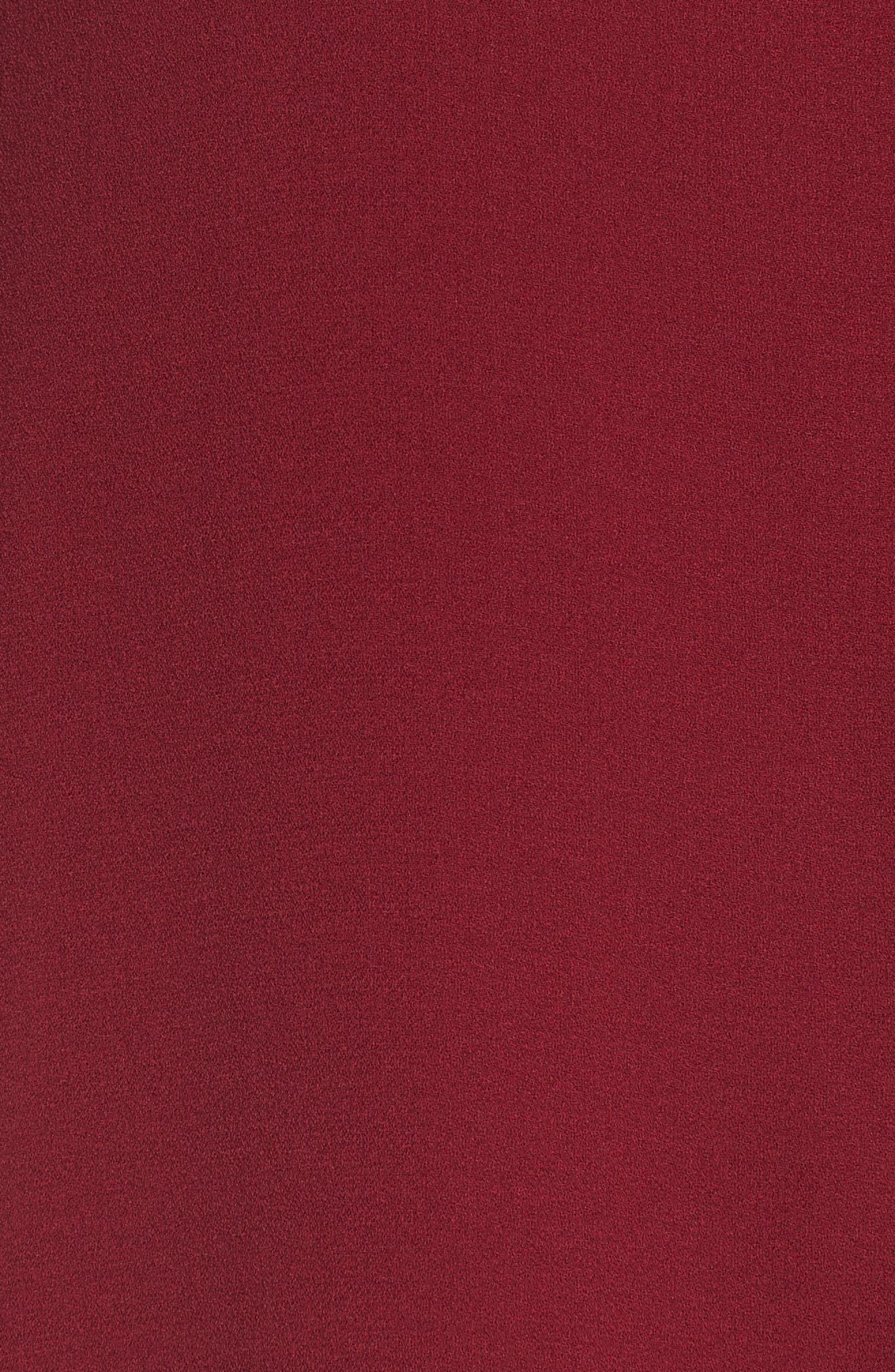 Silk Blouse,                             Alternate thumbnail 5, color,                             Hibiscus