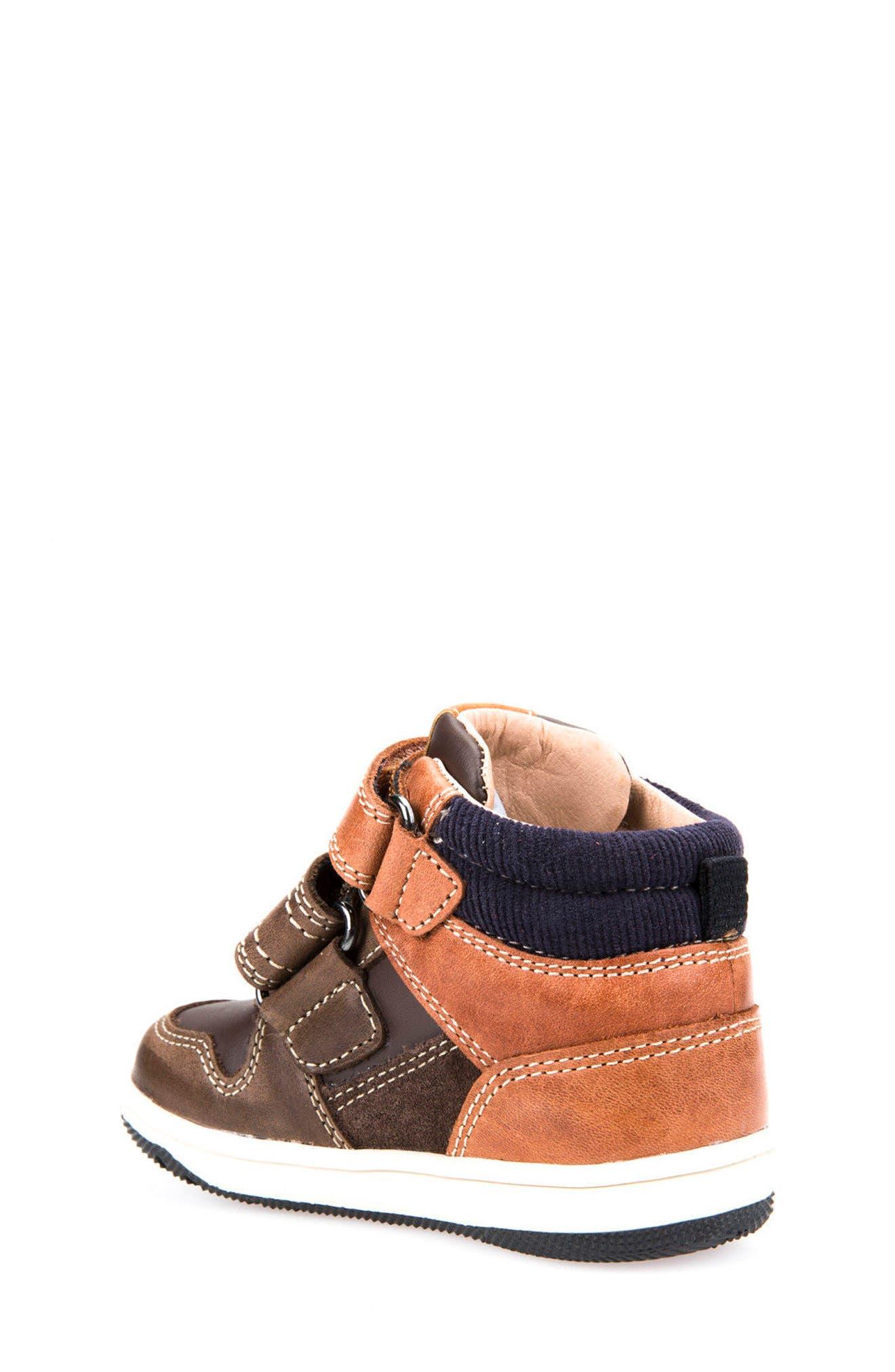 Alternate Image 2  - Geox New Flick Mid Top Sneaker (Walker & Toddler)