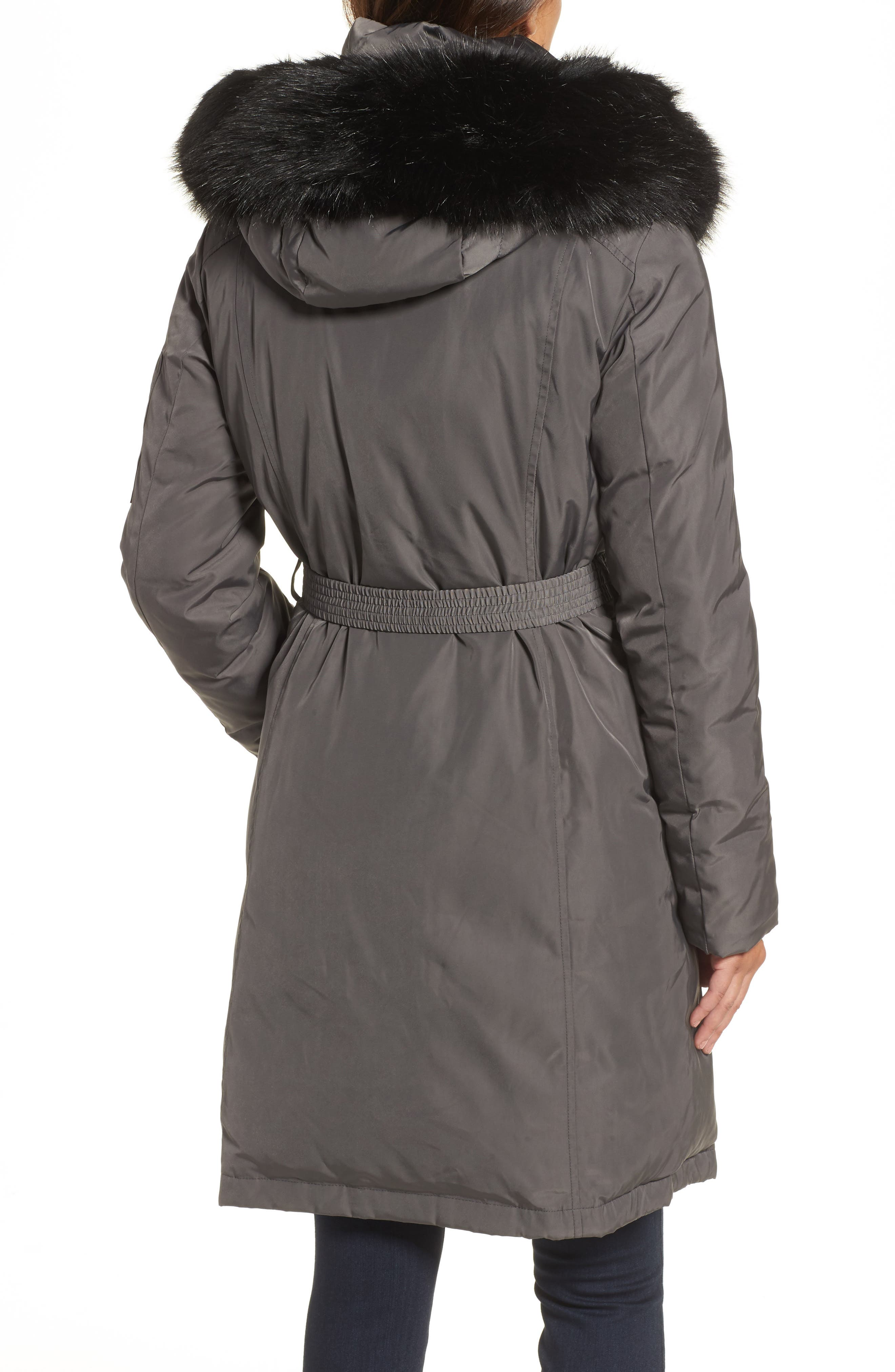 Alternate Image 2  - Vince Camuto Insulated Puffer Jacket