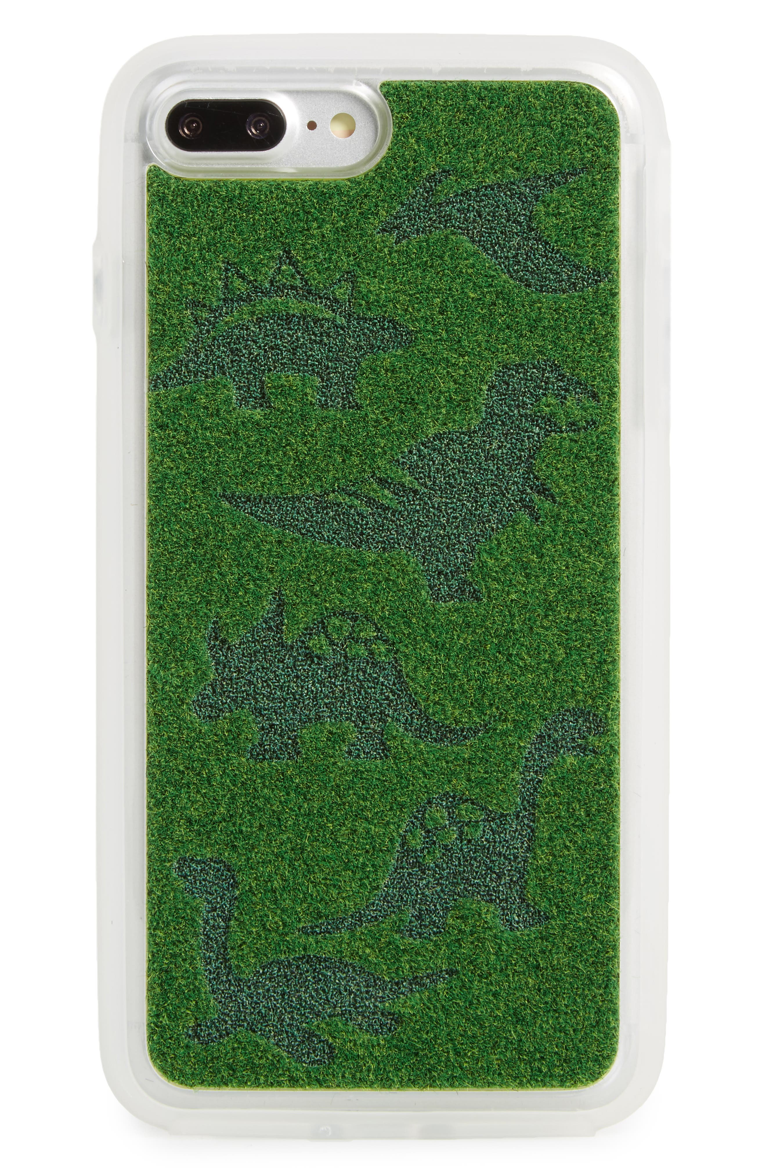 Alternate Image 1 Selected - Shibaful Dinosaurs Me iPhone 7 Case