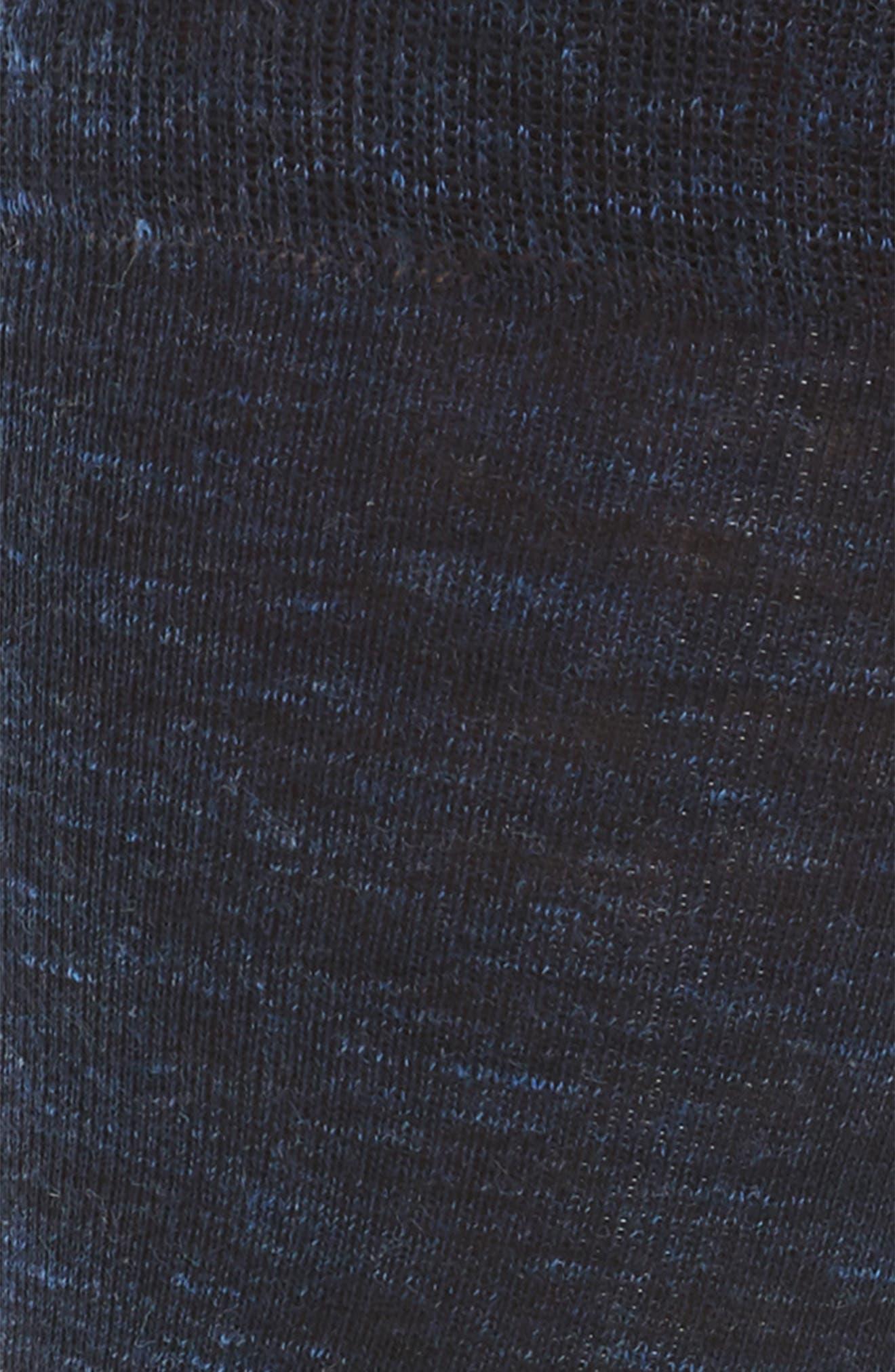 Twist Socks,                             Alternate thumbnail 2, color,                             Navy