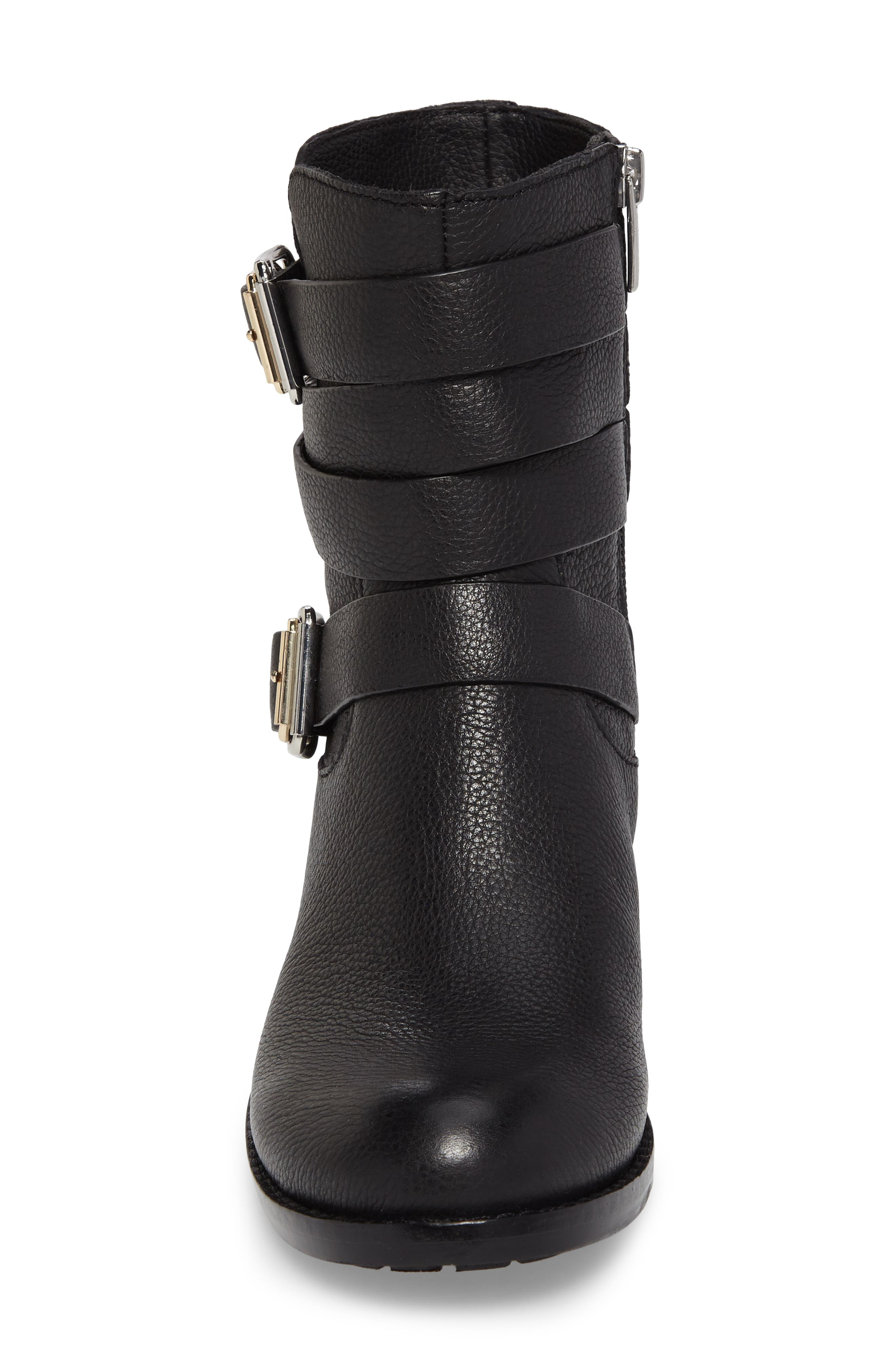 Webey Boot,                             Alternate thumbnail 4, color,                             Black Leather