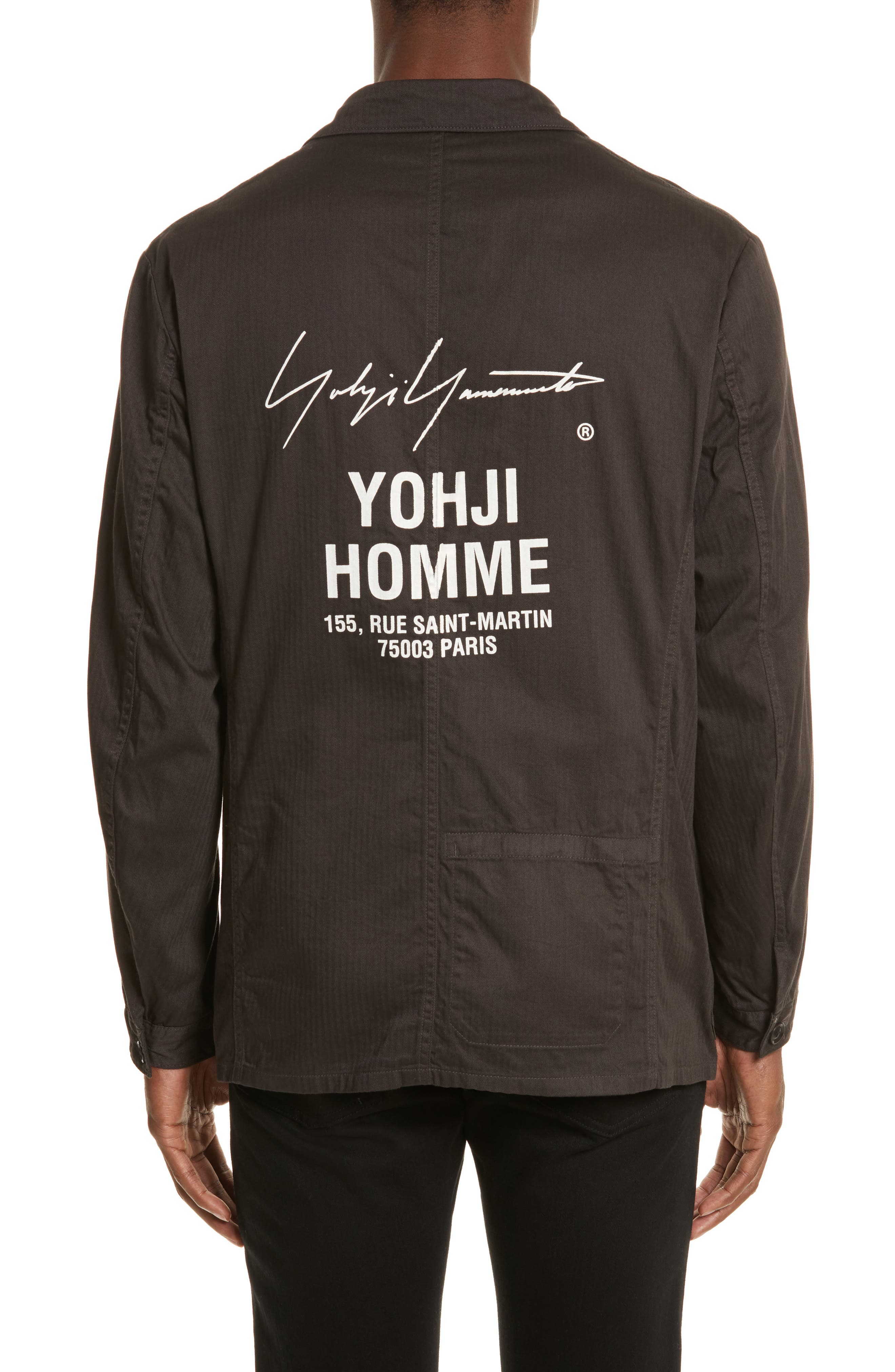 Alternate Image 2  - Yohji Yamamoto Chore Jacket