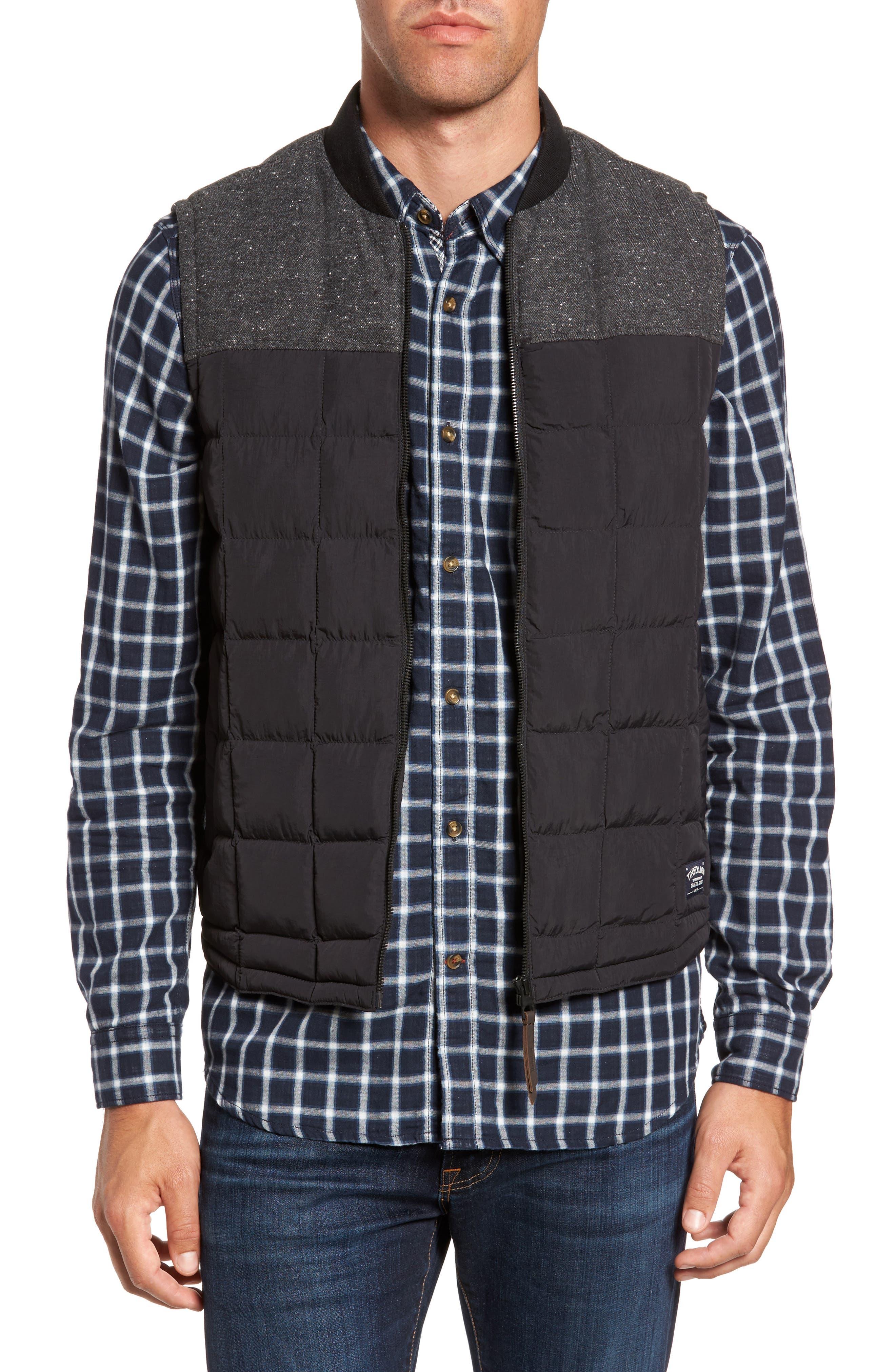 Alternate Image 1 Selected - Timberland® Skye Peak Mixed Media Vest