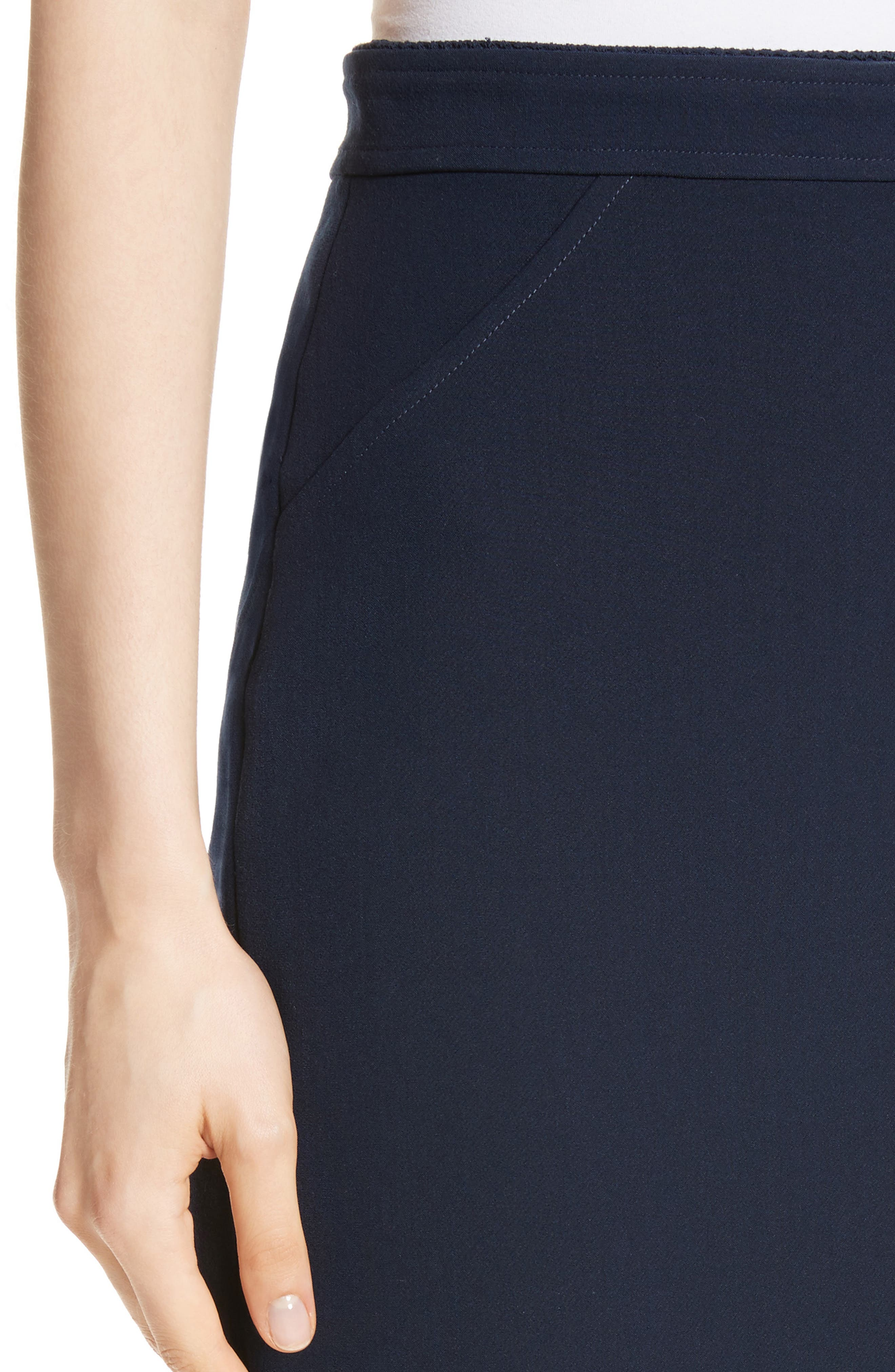 Alternate Image 4  - St. John Collection Bella Double Weave Pencil Skirt