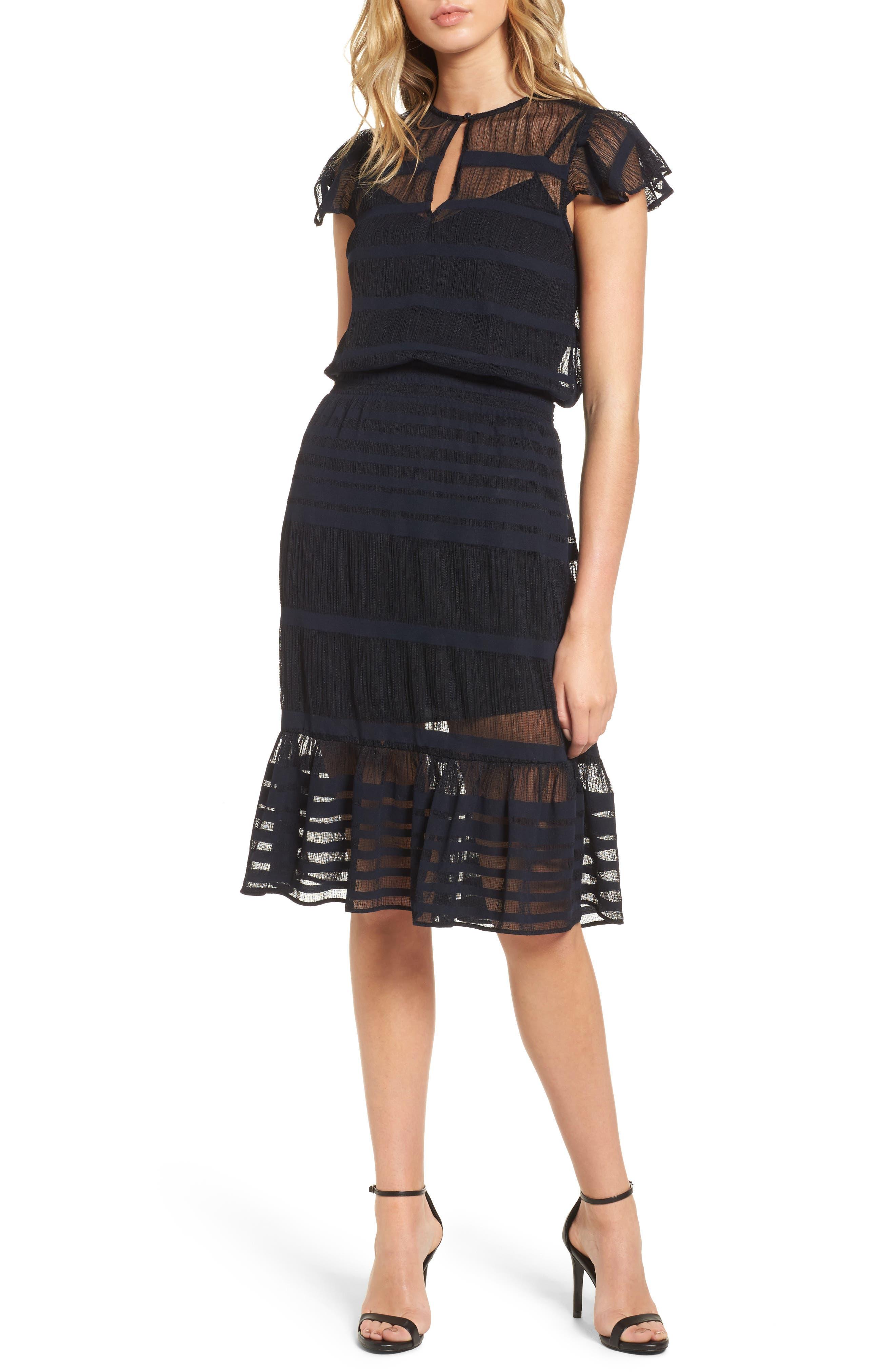 devlin Kenzy Ruffle Dress