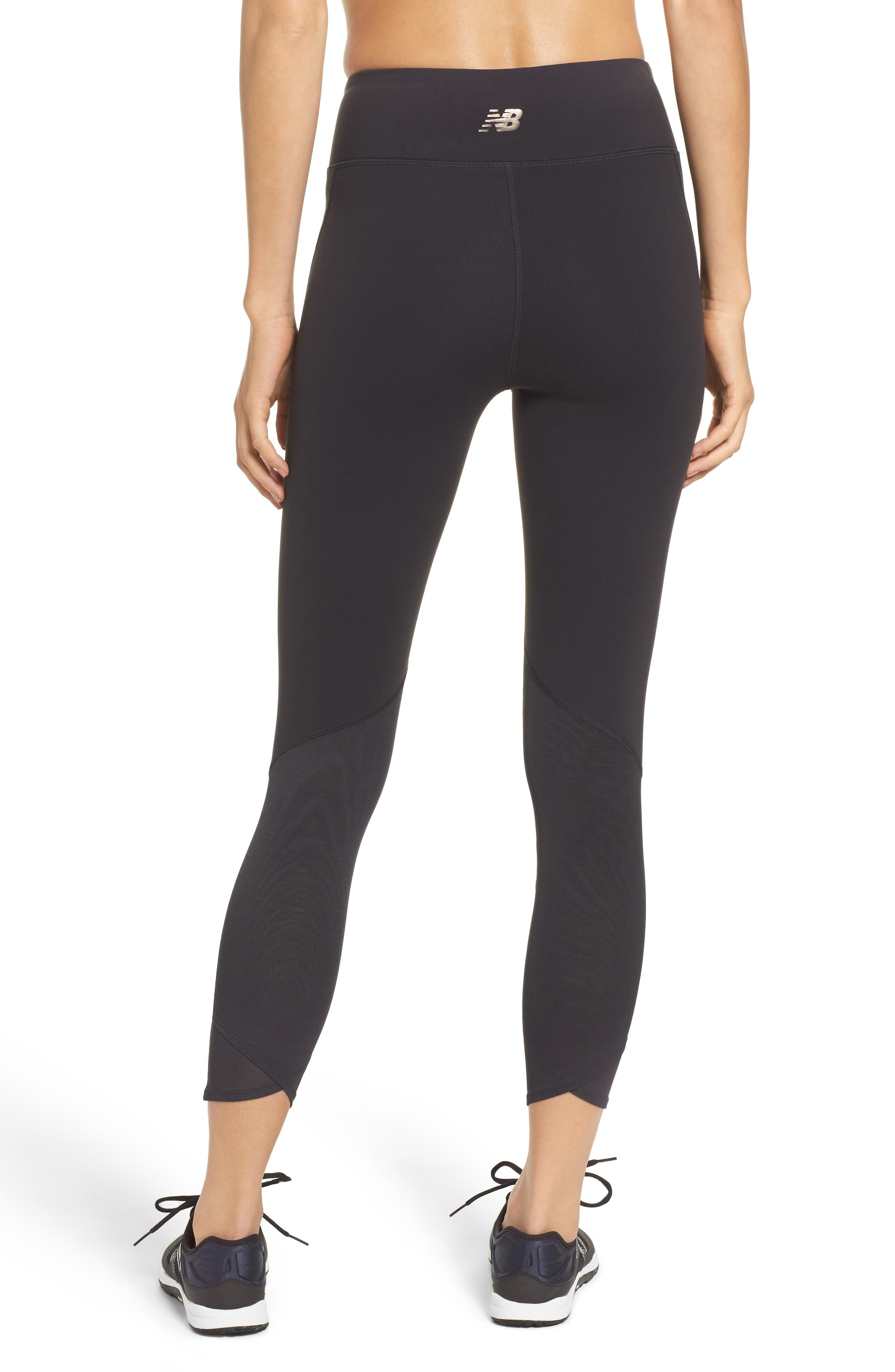 Alternate Image 2  - New Balance Elixir High Waist Ankle Leggings