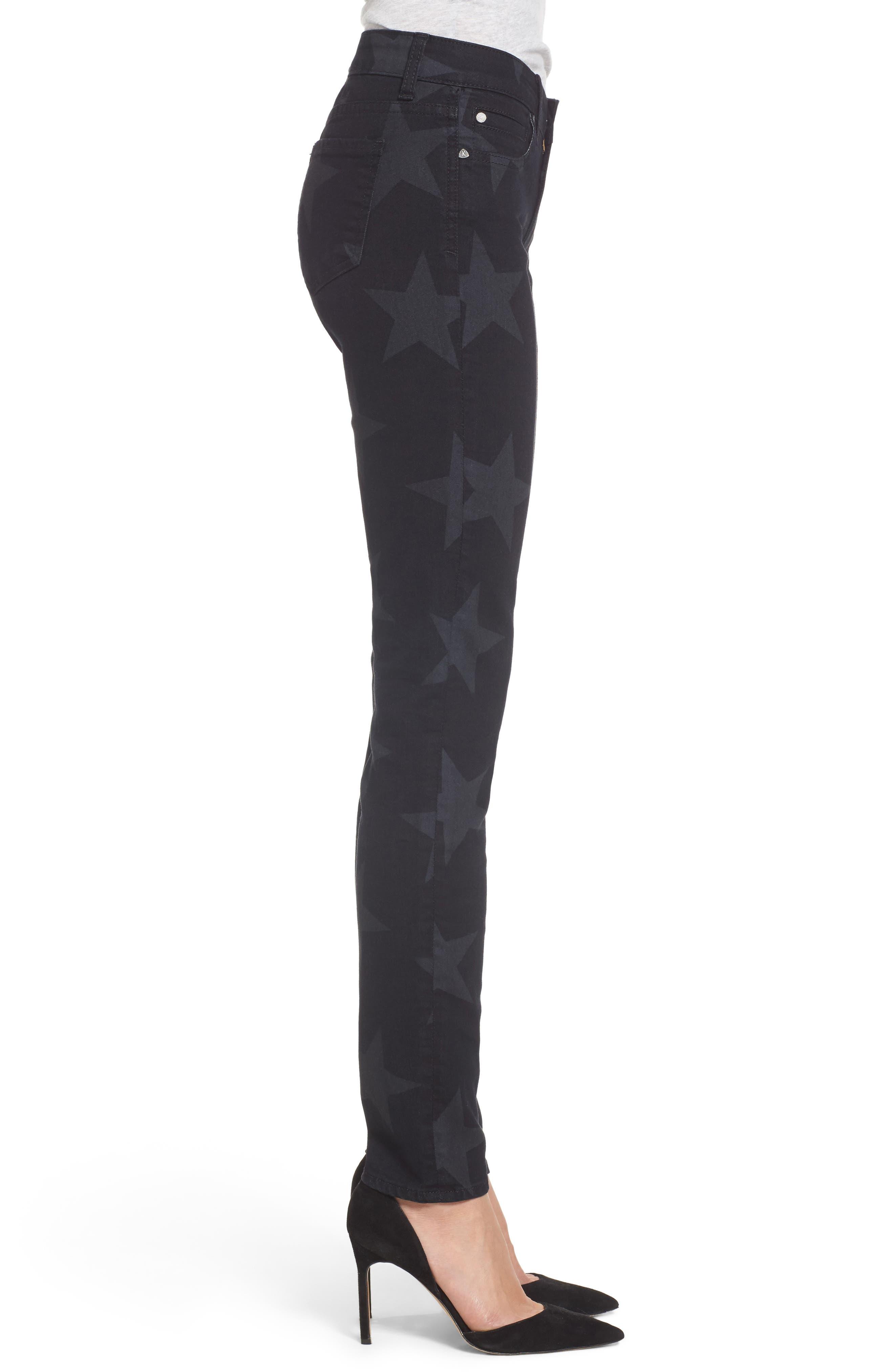 Mia Star Print Skinny Jeans,                             Alternate thumbnail 2, color,                             Trailblazing