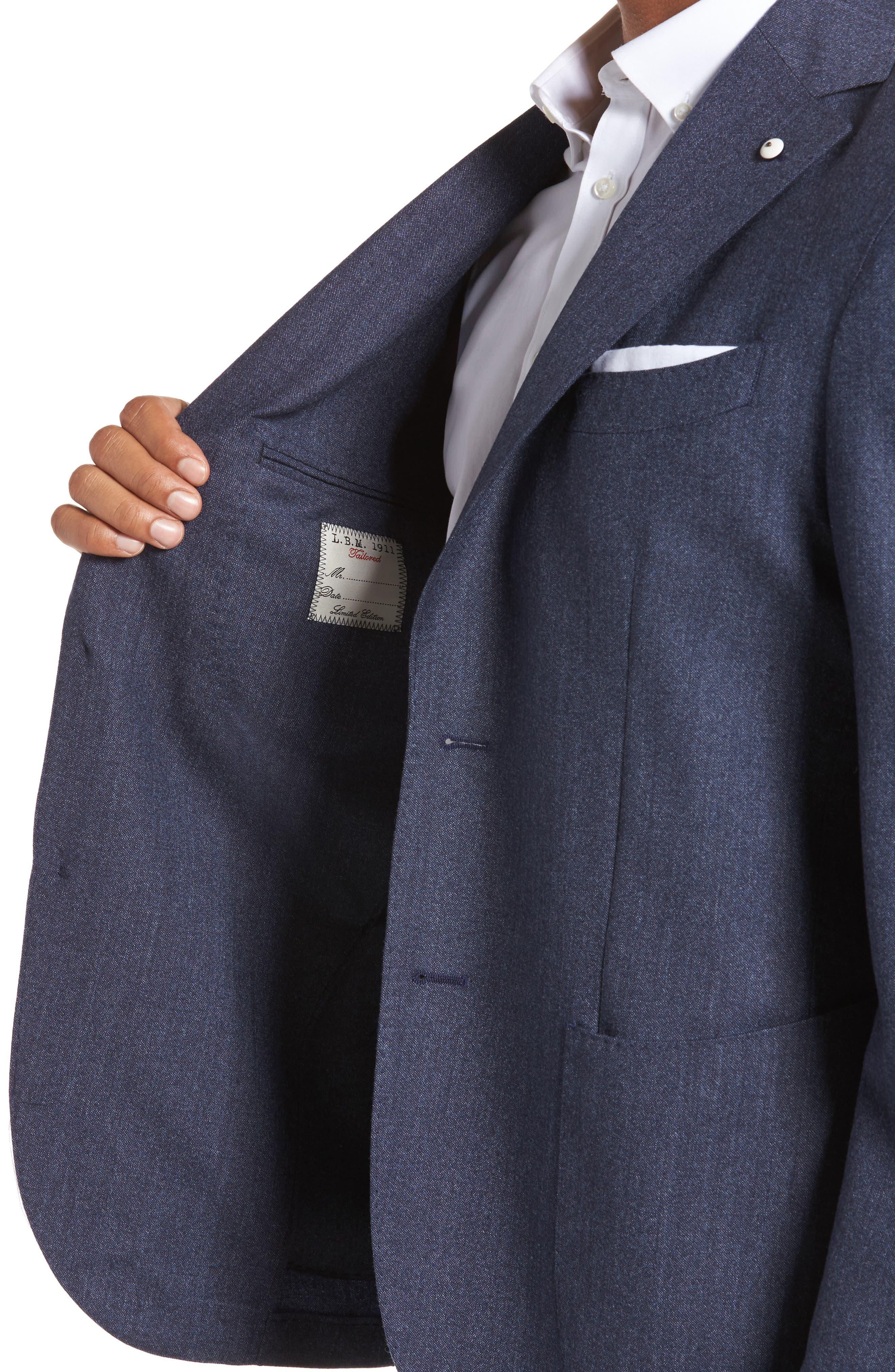Alternate Image 4  - L.B.M. 1911 Classic Fit Wool Blazer