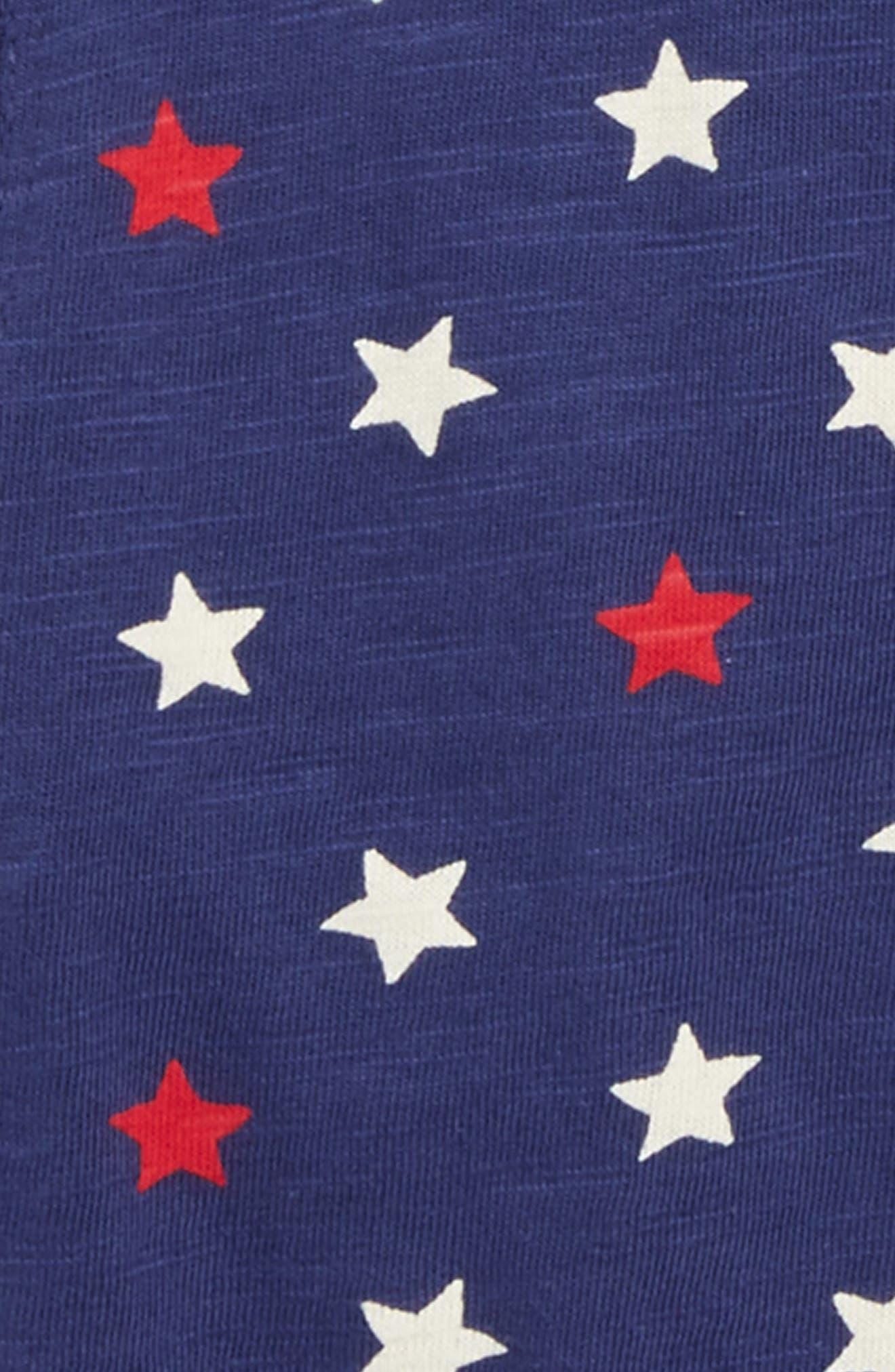 Alternate Image 2  - Mini Boden Star Print Jersey Shirt (Toddler Boys, Little Boys & Big Boys)