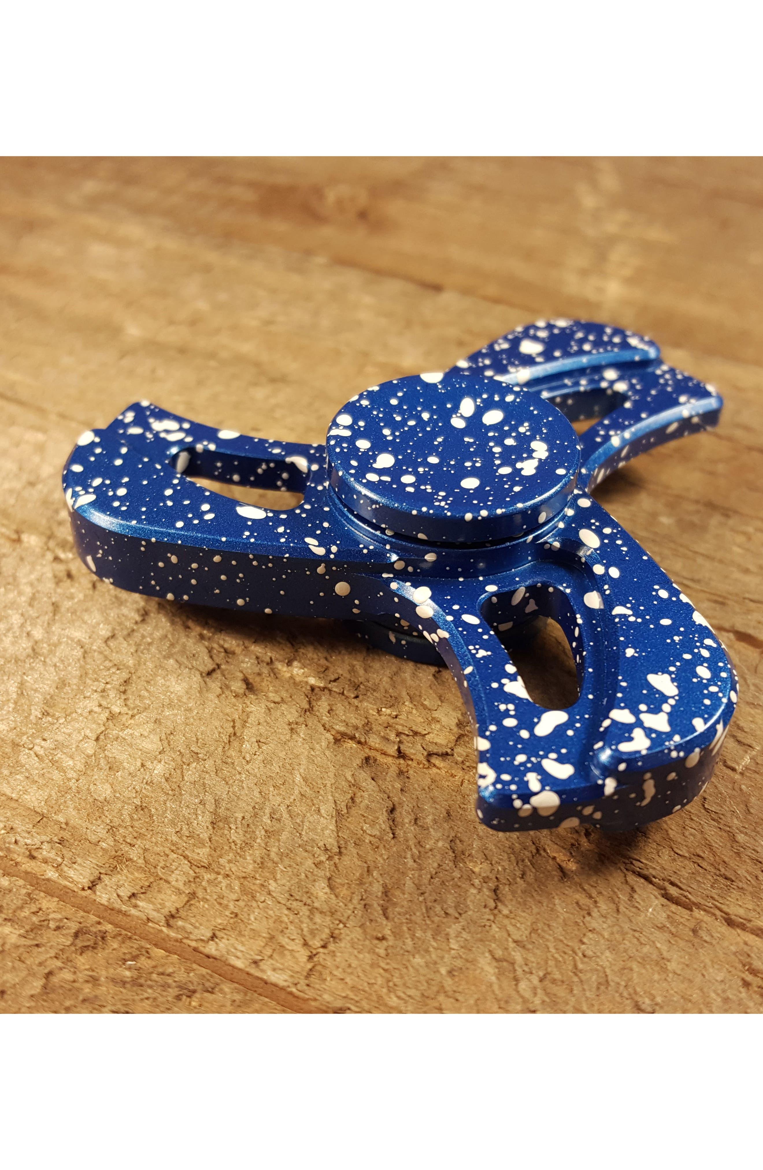 Turbine Tri Bar Fidget Toy,                             Alternate thumbnail 2, color,                             Blue/ White
