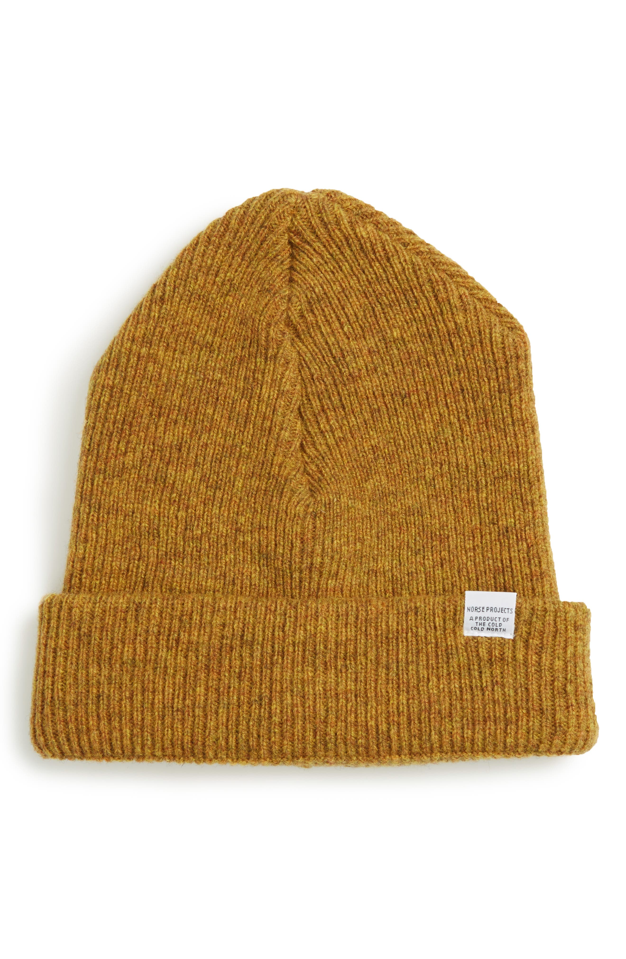 Alternate Image 1 Selected - Norse Project Wool Knit Cap