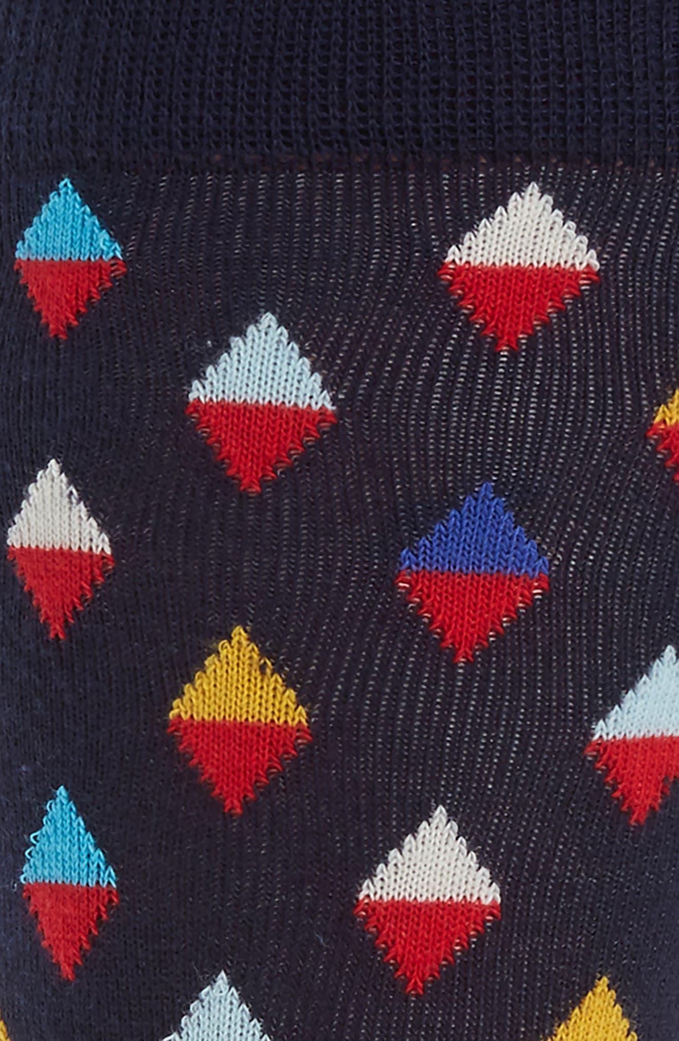 Alternate Image 2  - Happy Socks Diamond Socks (3 for $30)