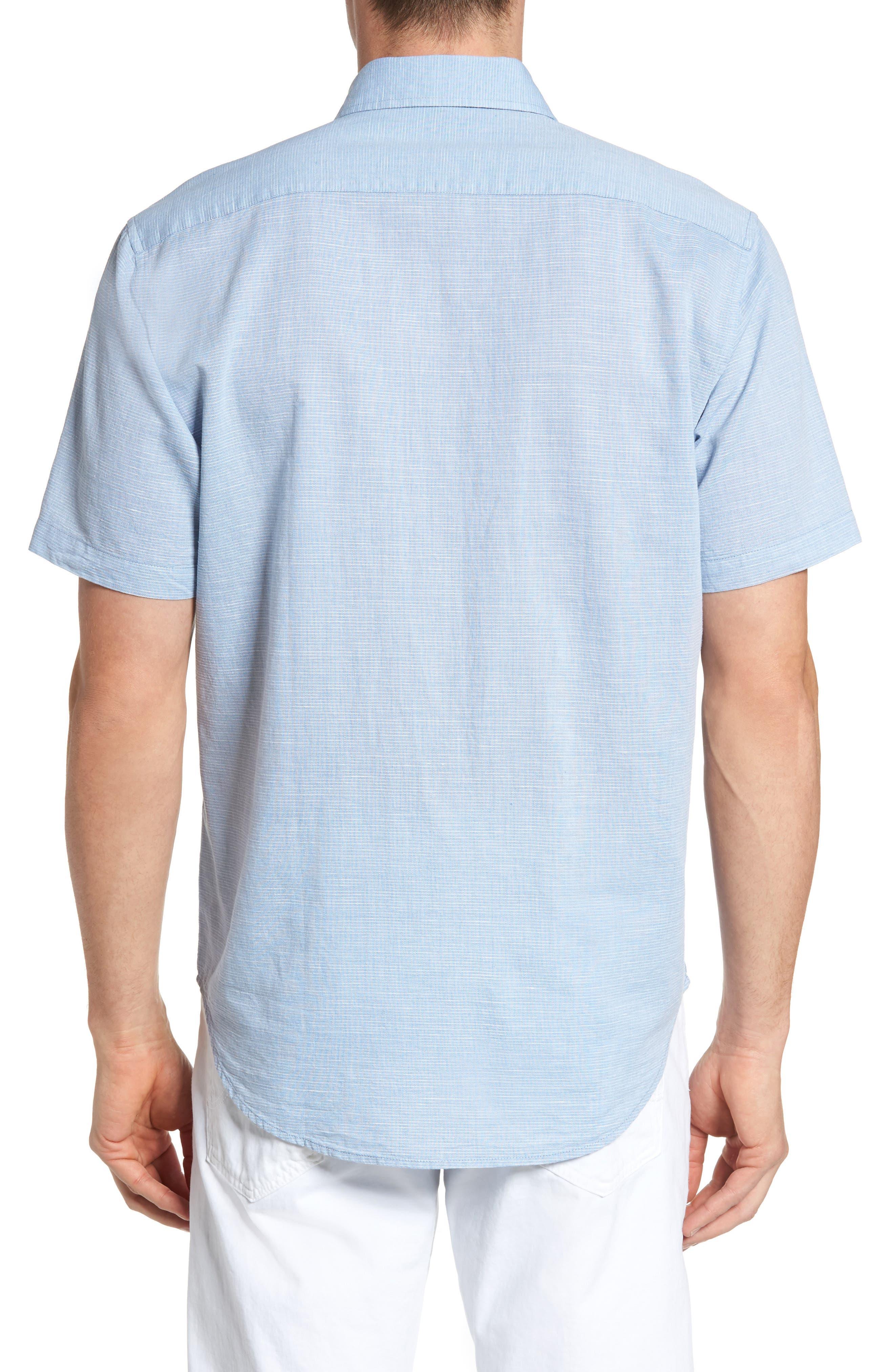 Alternate Image 2  - James Campbell 'Ellerbe' Regular Fit Short Sleeve Sport Shirt