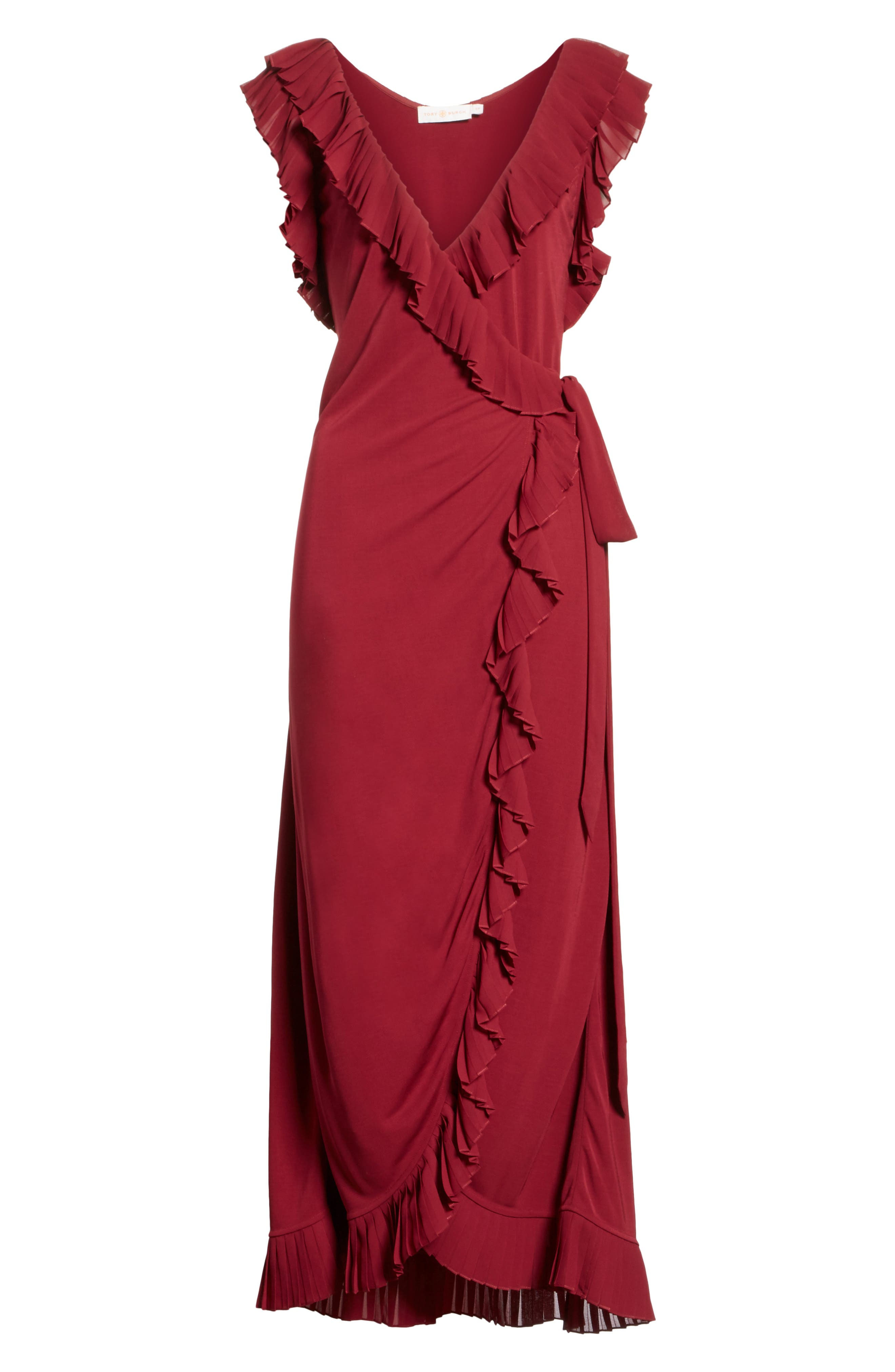 Alternate Image 6  - Tory Burch Whitney Wrap Midi Dress