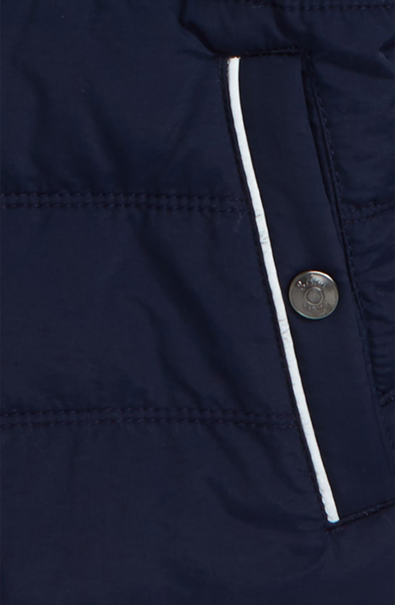 Hooded Jacket,                             Alternate thumbnail 2, color,                             Navy