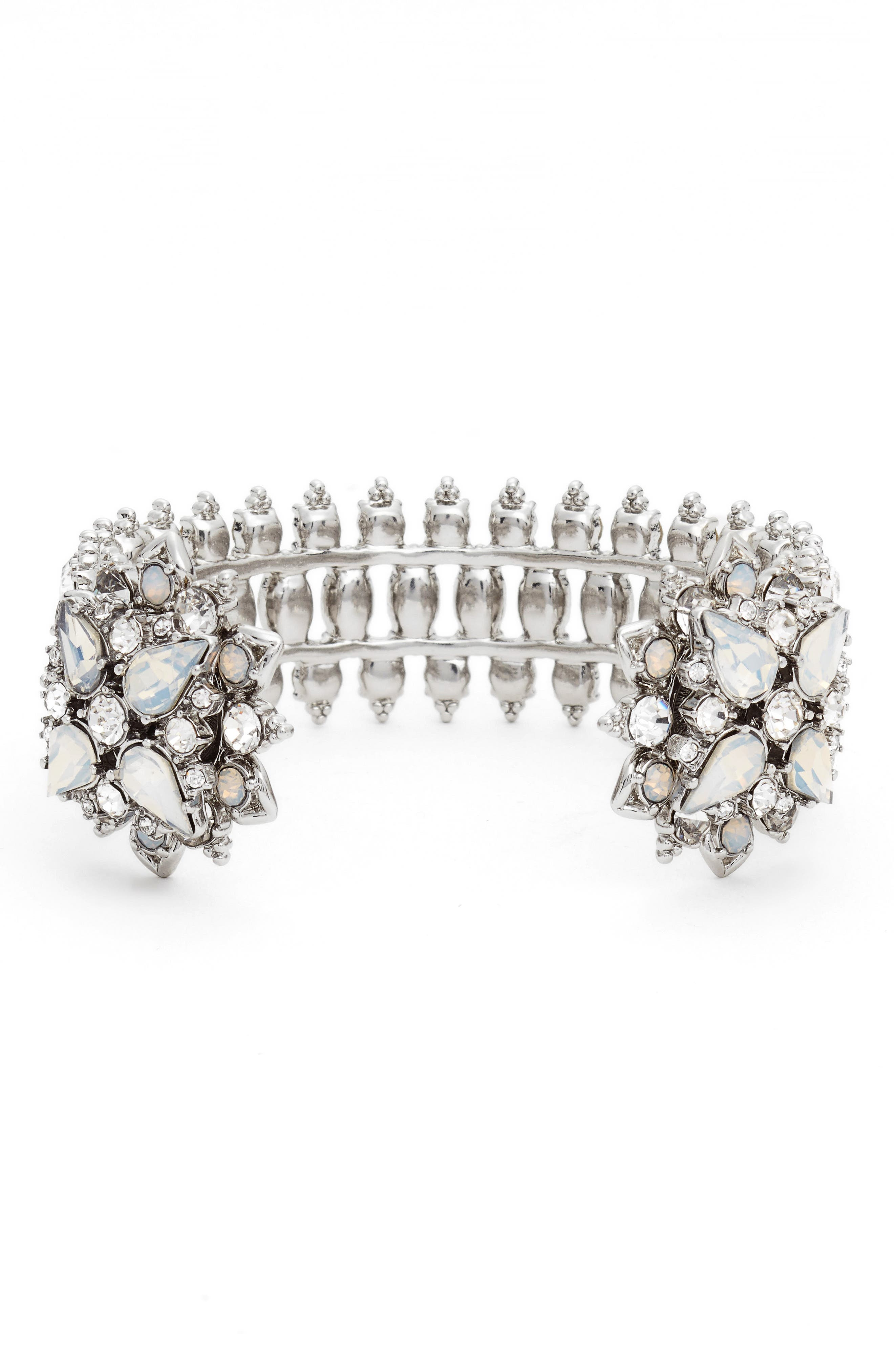 Alternate Image 1 Selected - Marchesa Crystal Wrist Cuff