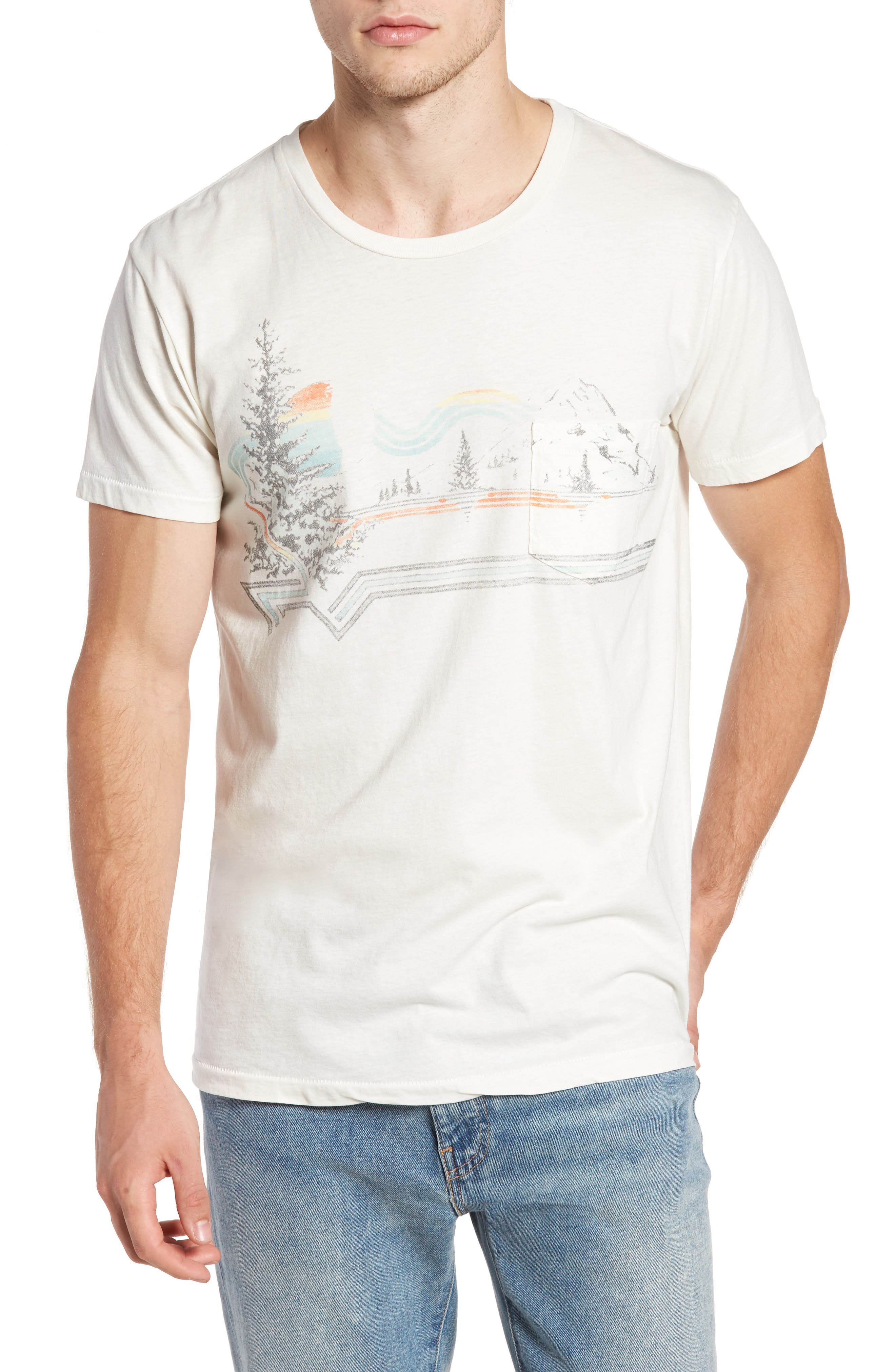 SOL ANGELES Riva Glade Pocket T-Shirt