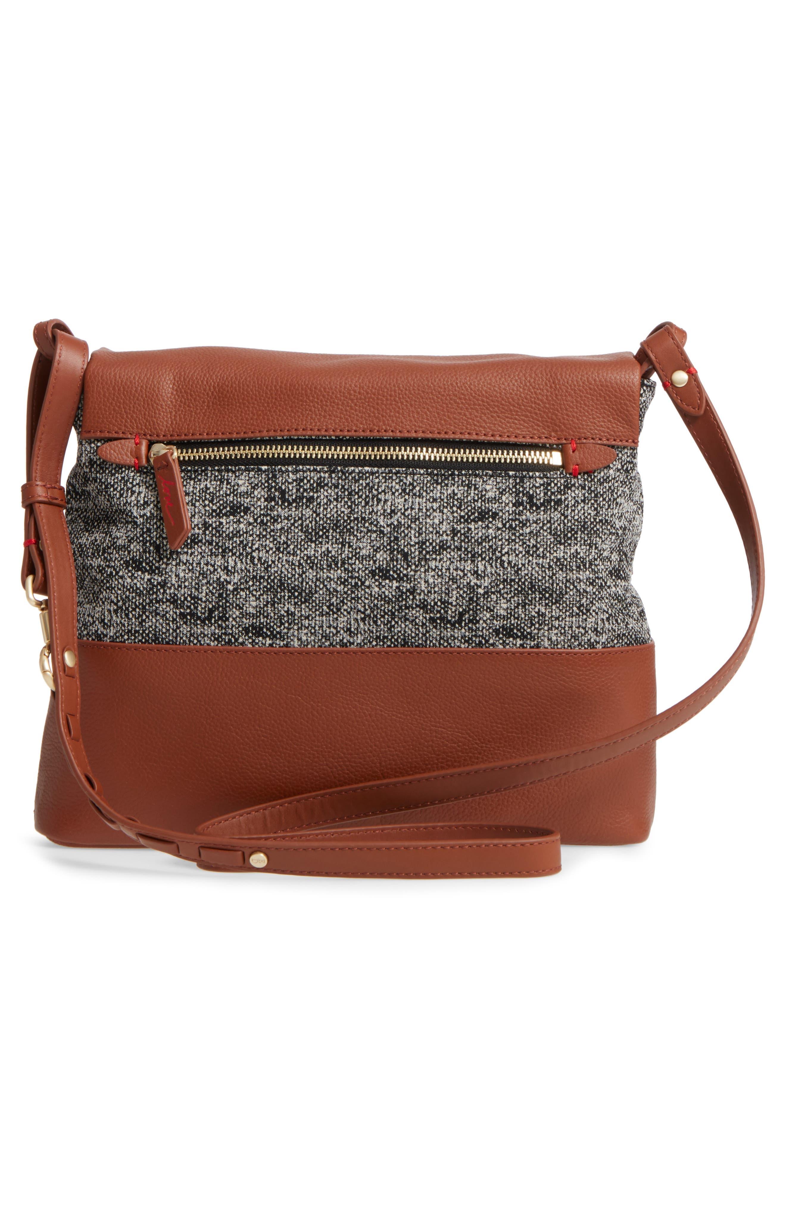 Medium Brea Crossbody Bag,                             Alternate thumbnail 2, color,                             Whiskey