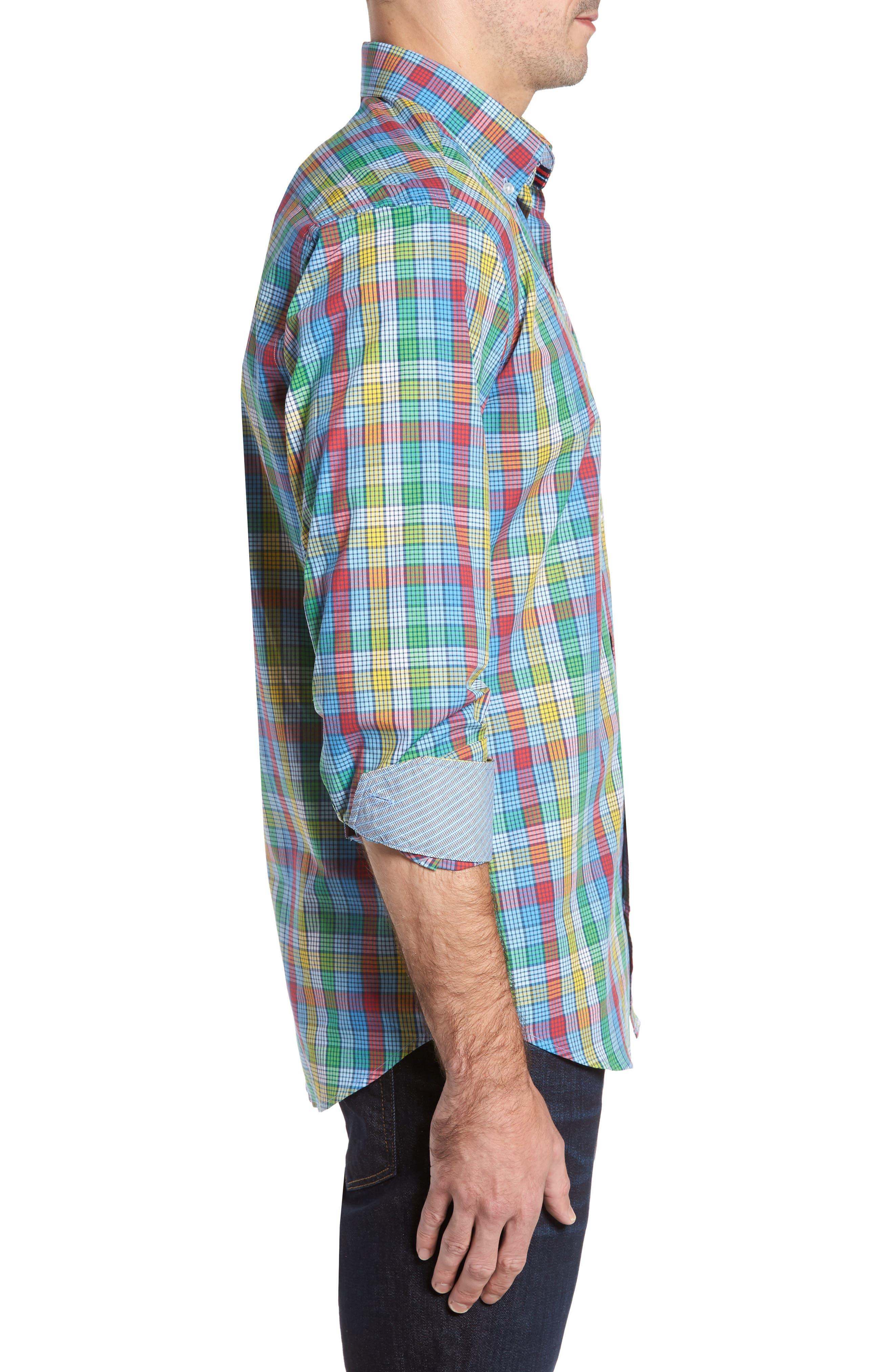 Alternate Image 3  - TailorByrd Belmont Check Sport Shirt
