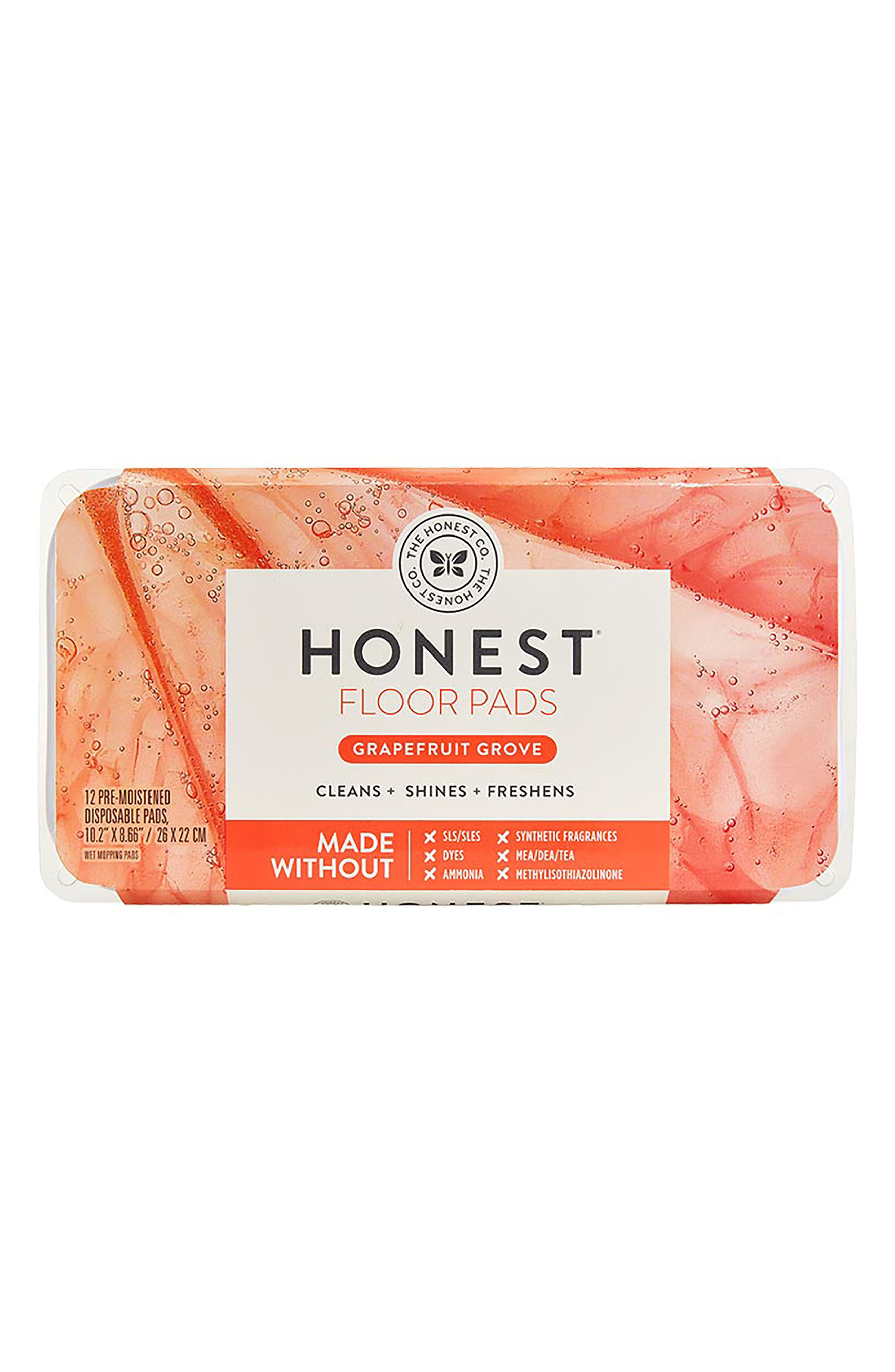 The Honest Company Grapefruit Grove Floor Mopping Pads