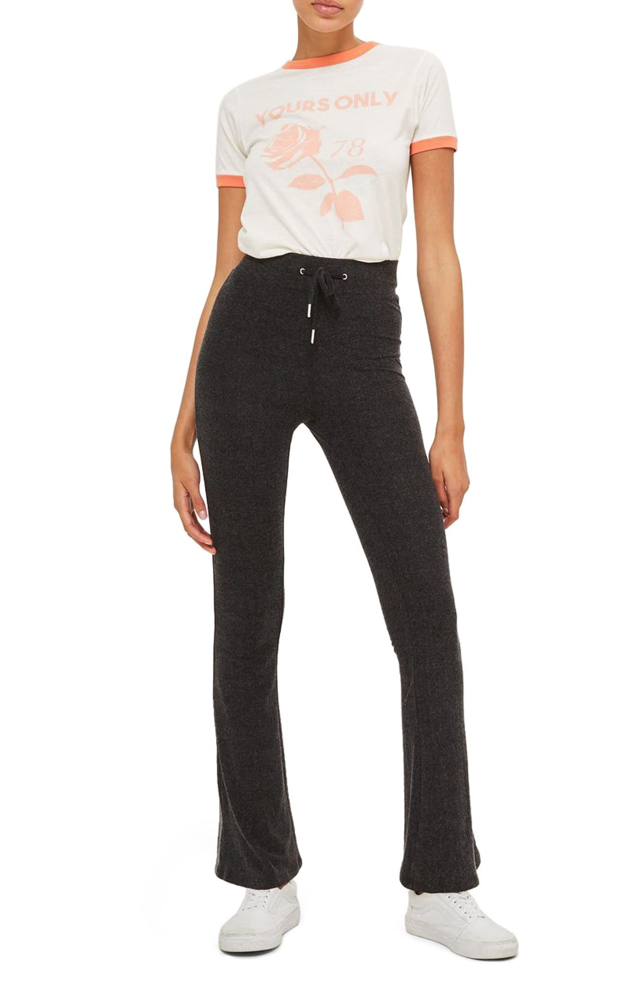 Topshop Soft Flare Pants (Petite)