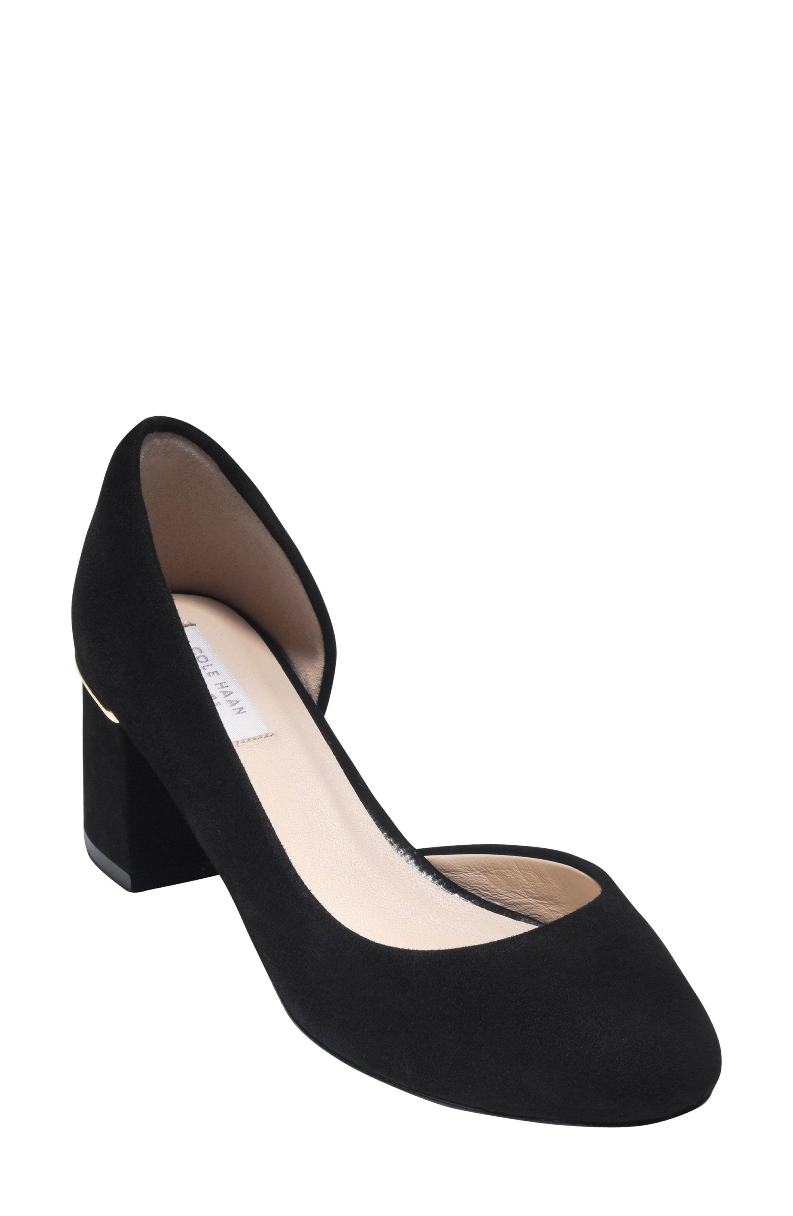 COLE HAAN Laree Half dOrsay Pump