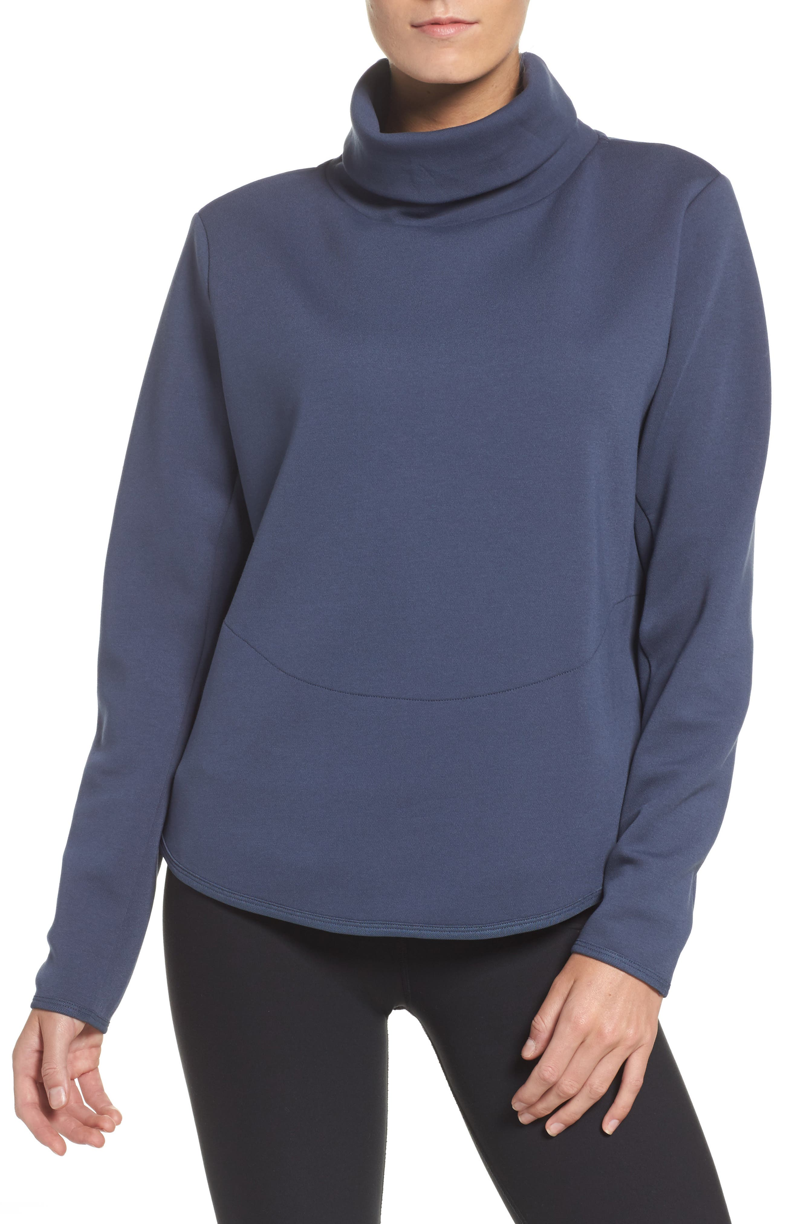 Therma Training Top,                         Main,                         color, Thunder Blue/ Black