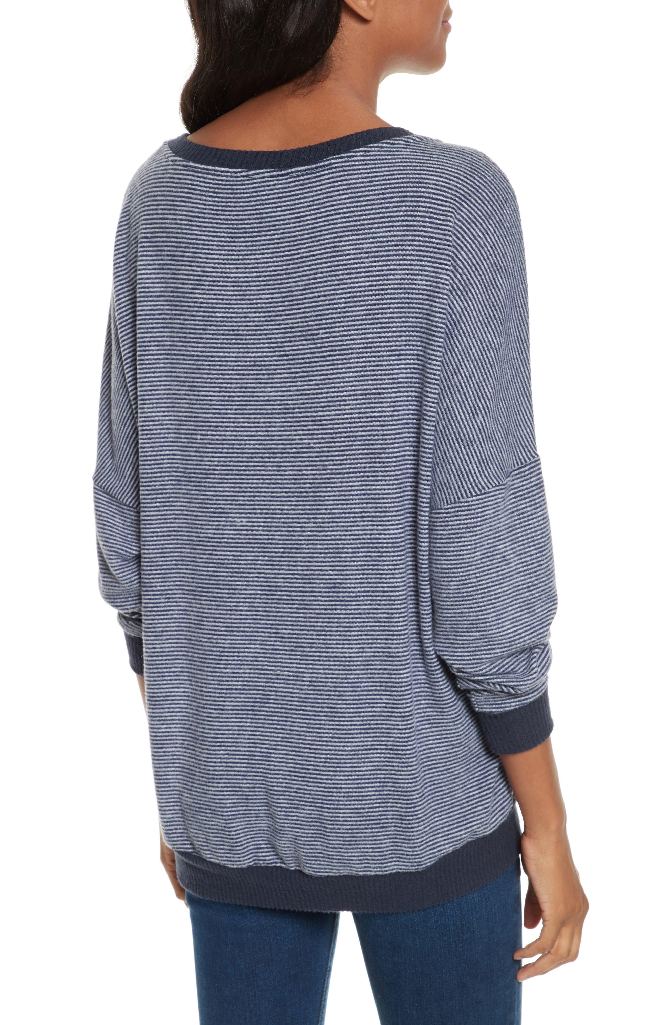 Alternate Image 2  - Joie Striped Sweatshirt