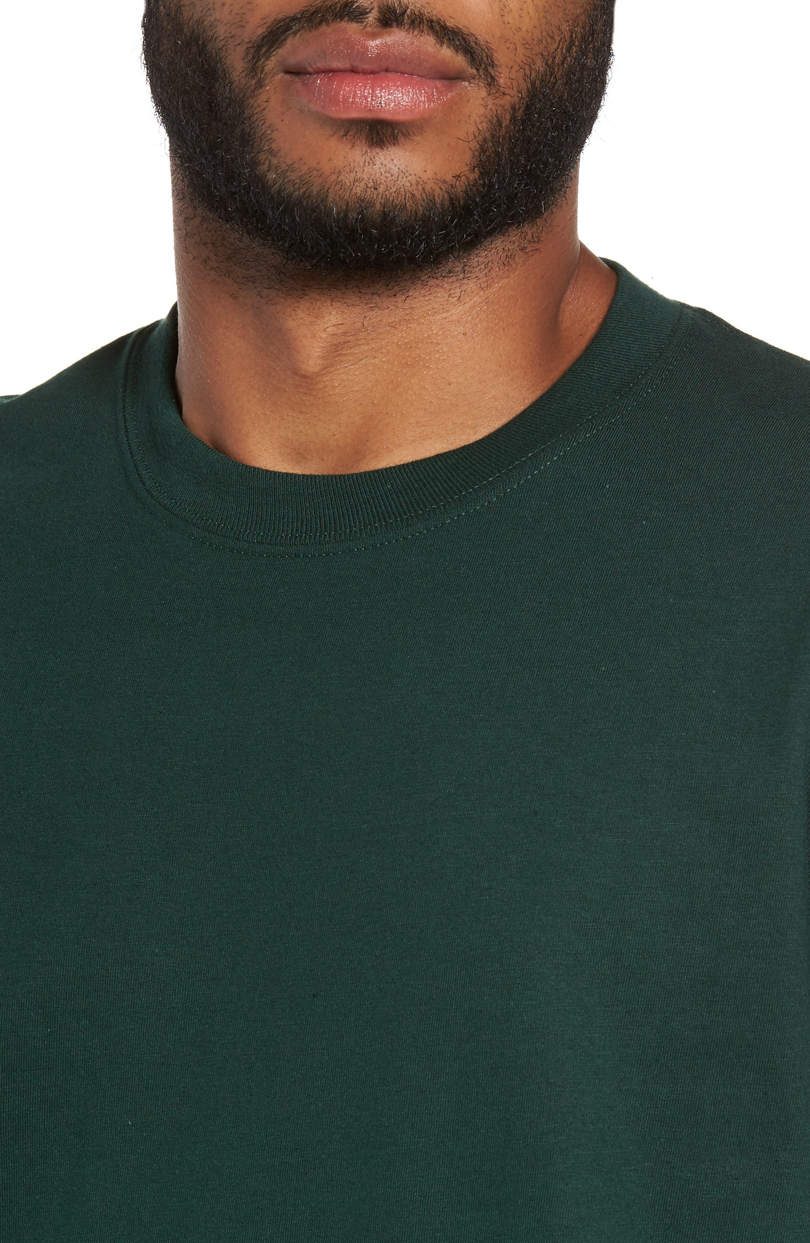 Alternate Image 5  - Peanuts Snoopy Skate Long Sleeve T-Shirt