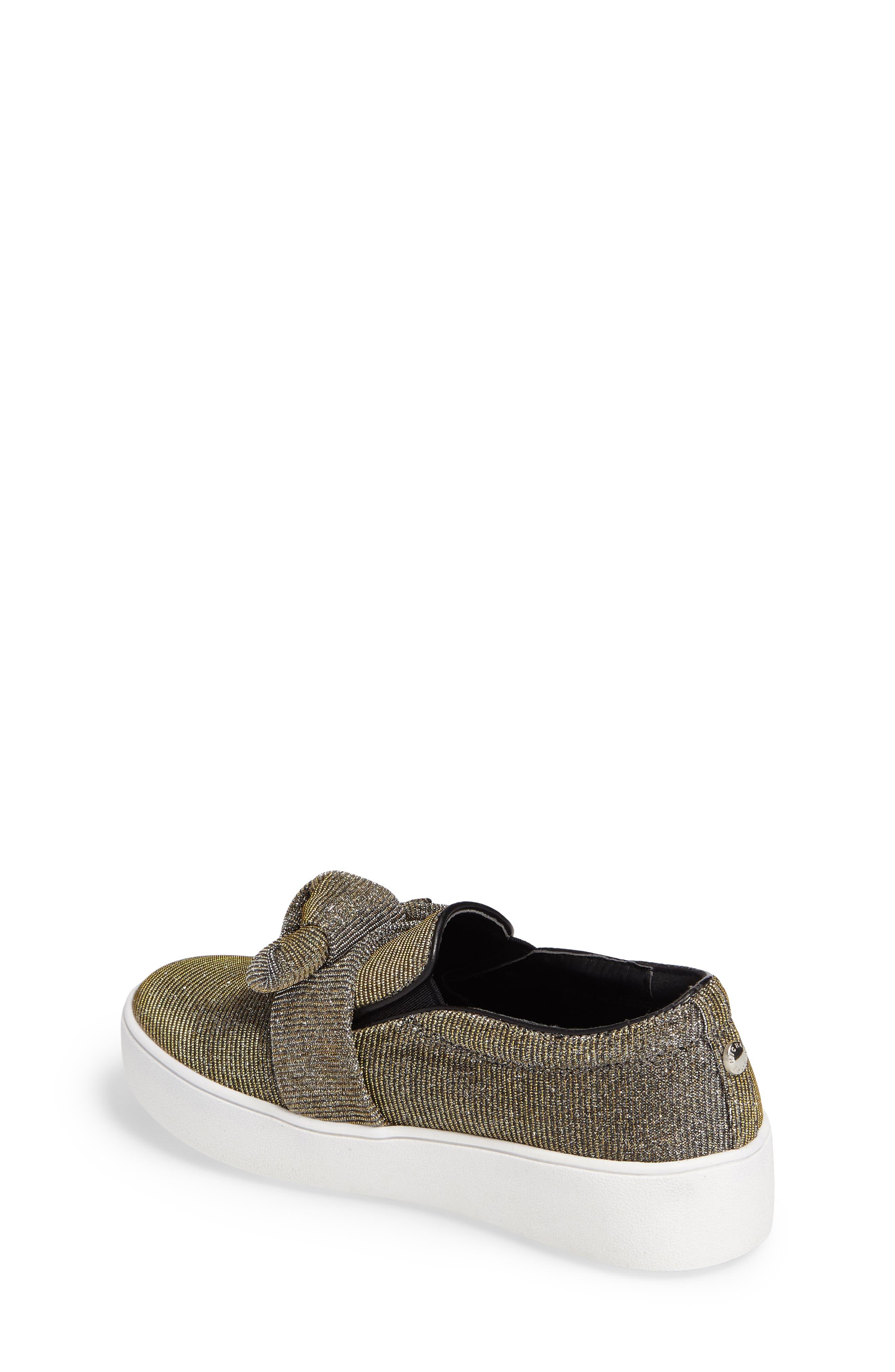 Alternate Image 2  - MICHAEL Michael Kors Maven Poppy Knotted Slip-On Sneaker (Walker, Toddler, Little Kid & Big Kid)