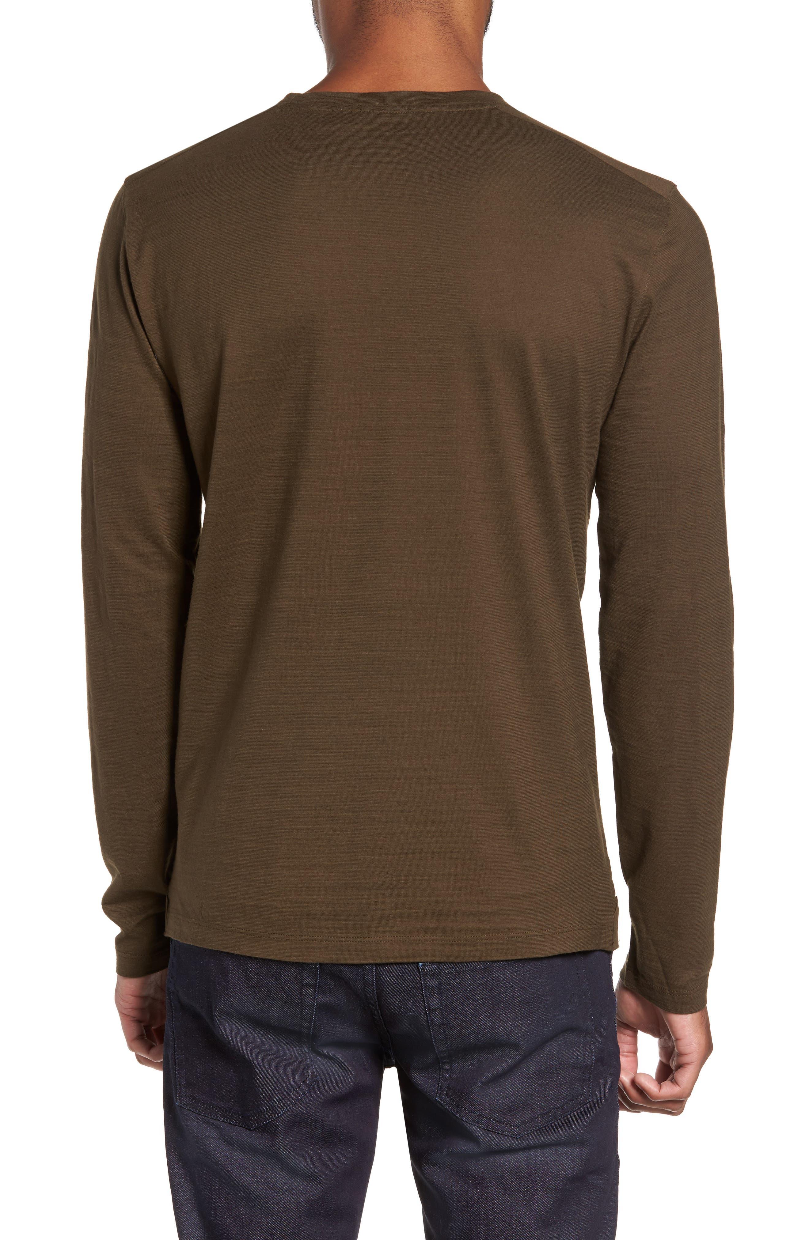 Tenison Long Sleeve T-Shirt,                             Alternate thumbnail 2, color,                             Olive