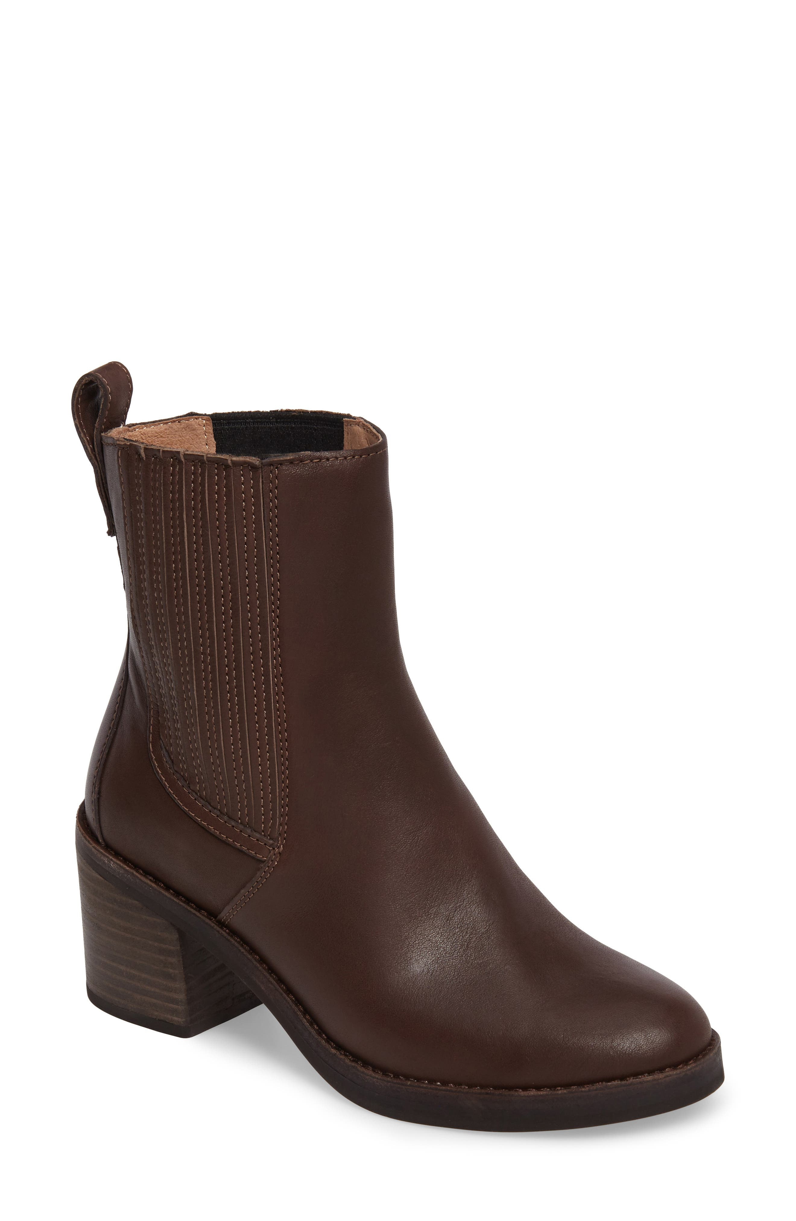 UGG� Camden Chelsea Boot (Women). BLACK LEATHER; CHOCOLATE LEATHER