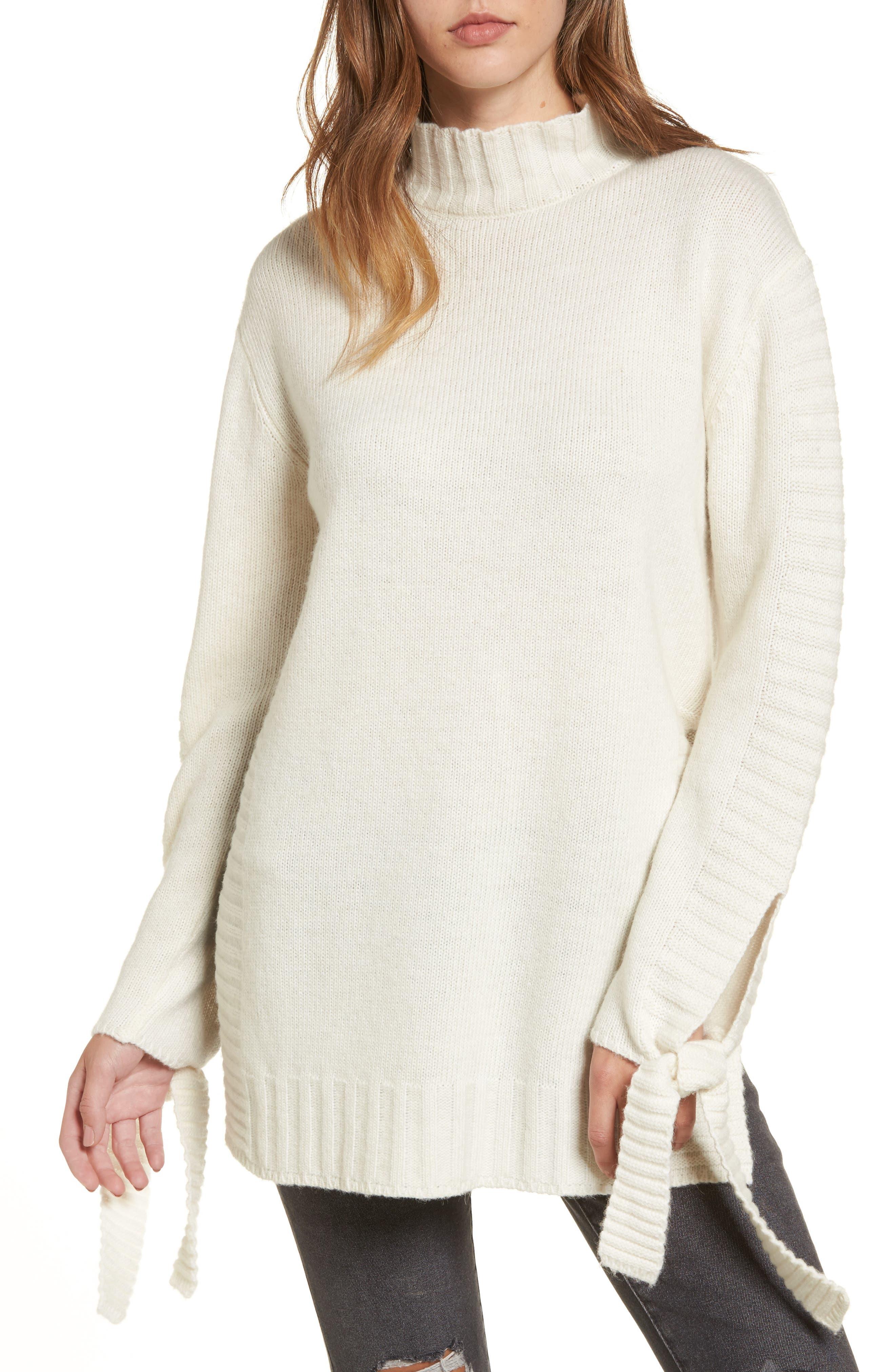 Alternate Image 1 Selected - Moon River Side Slit Sweater