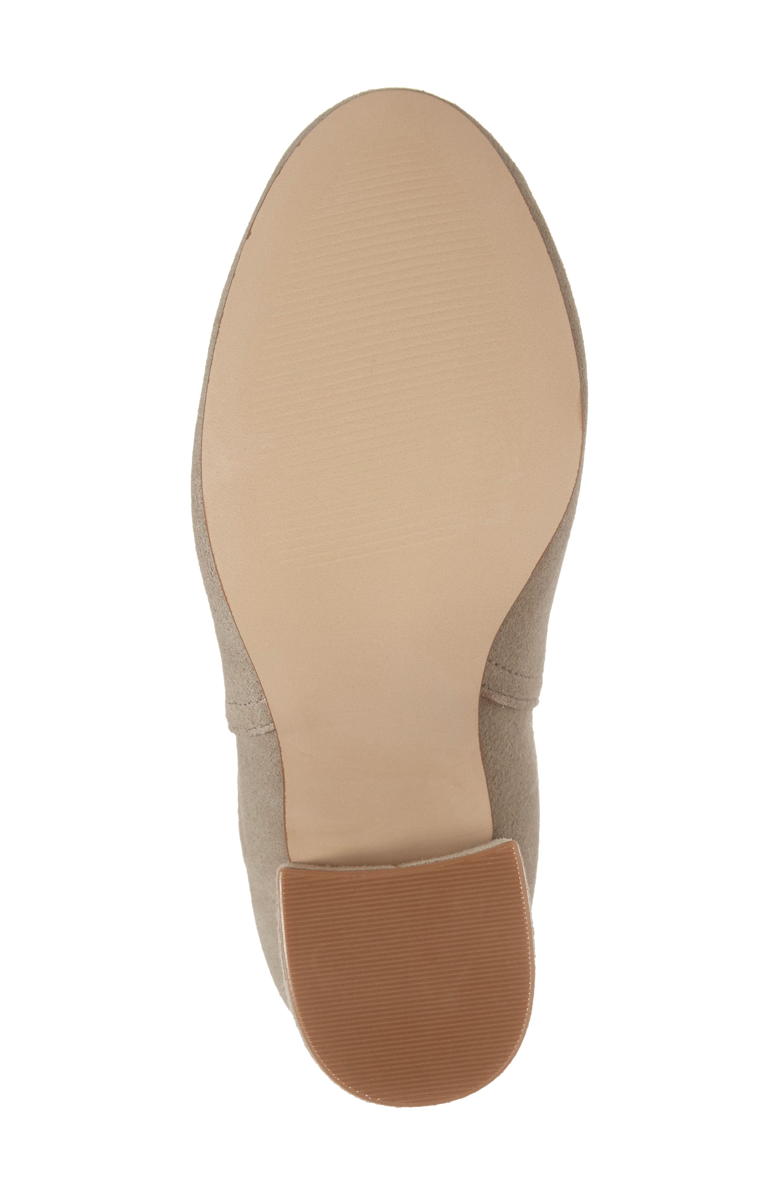 Naomi Cutout Bootie,                             Alternate thumbnail 6, color,                             Taupe Suede