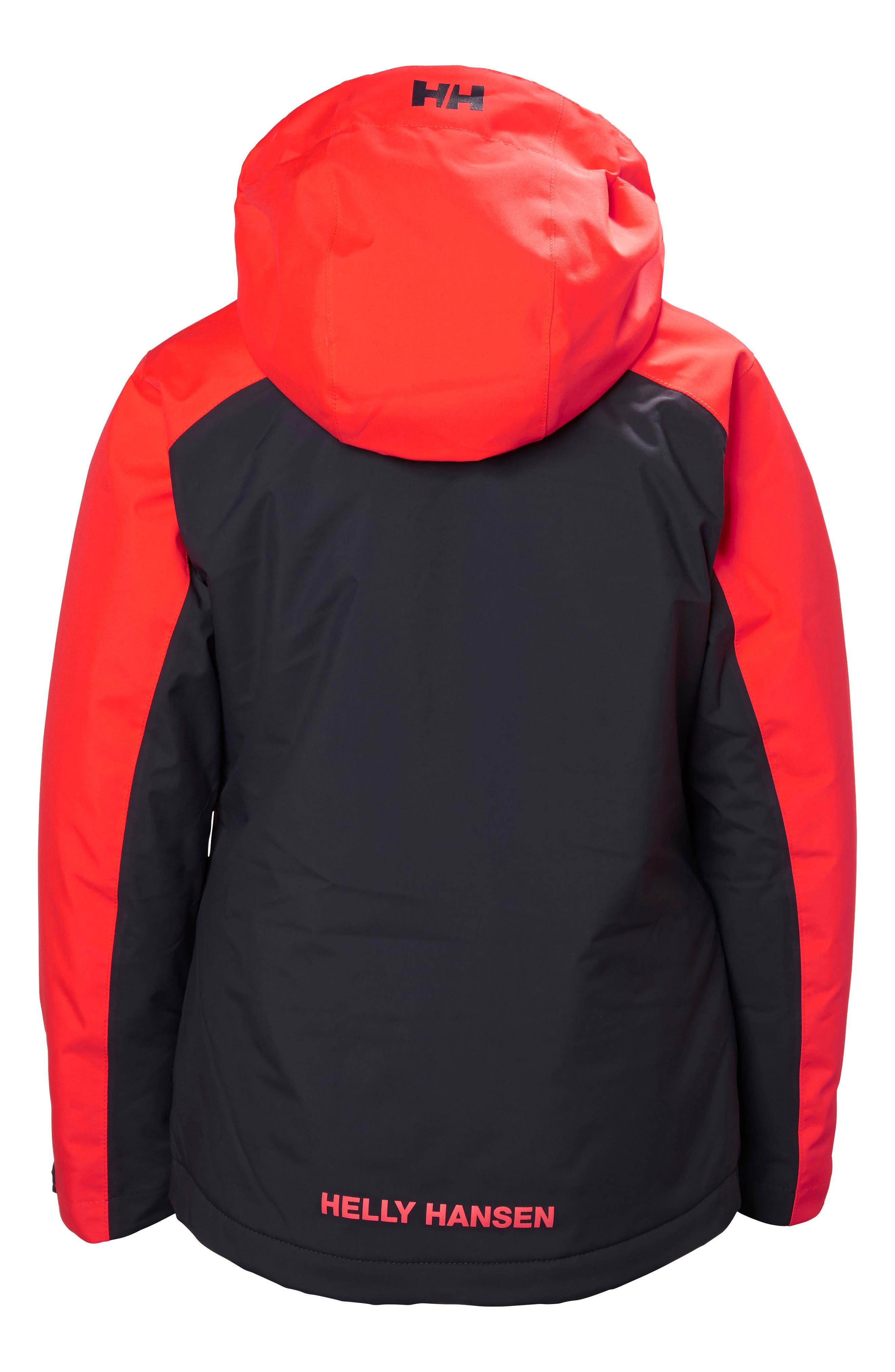 Alternate Image 2  - Helly Hansen Jr. Stella Waterproof Hooded Jacket (Big Girls)