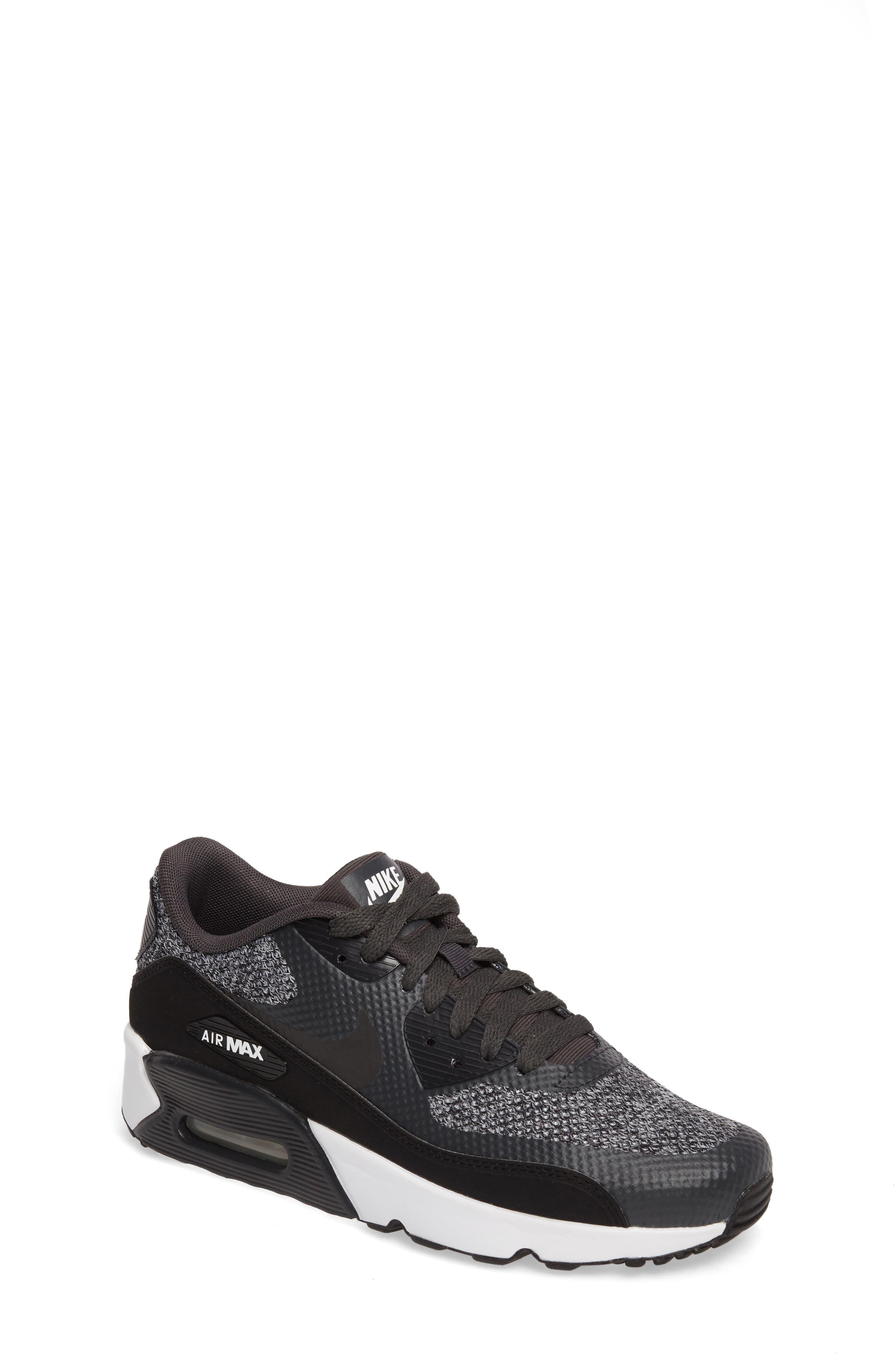 Air Max 90 Ultra 2.0 SE Sneaker,                             Main thumbnail 1, color,                             Anthracite/ Black