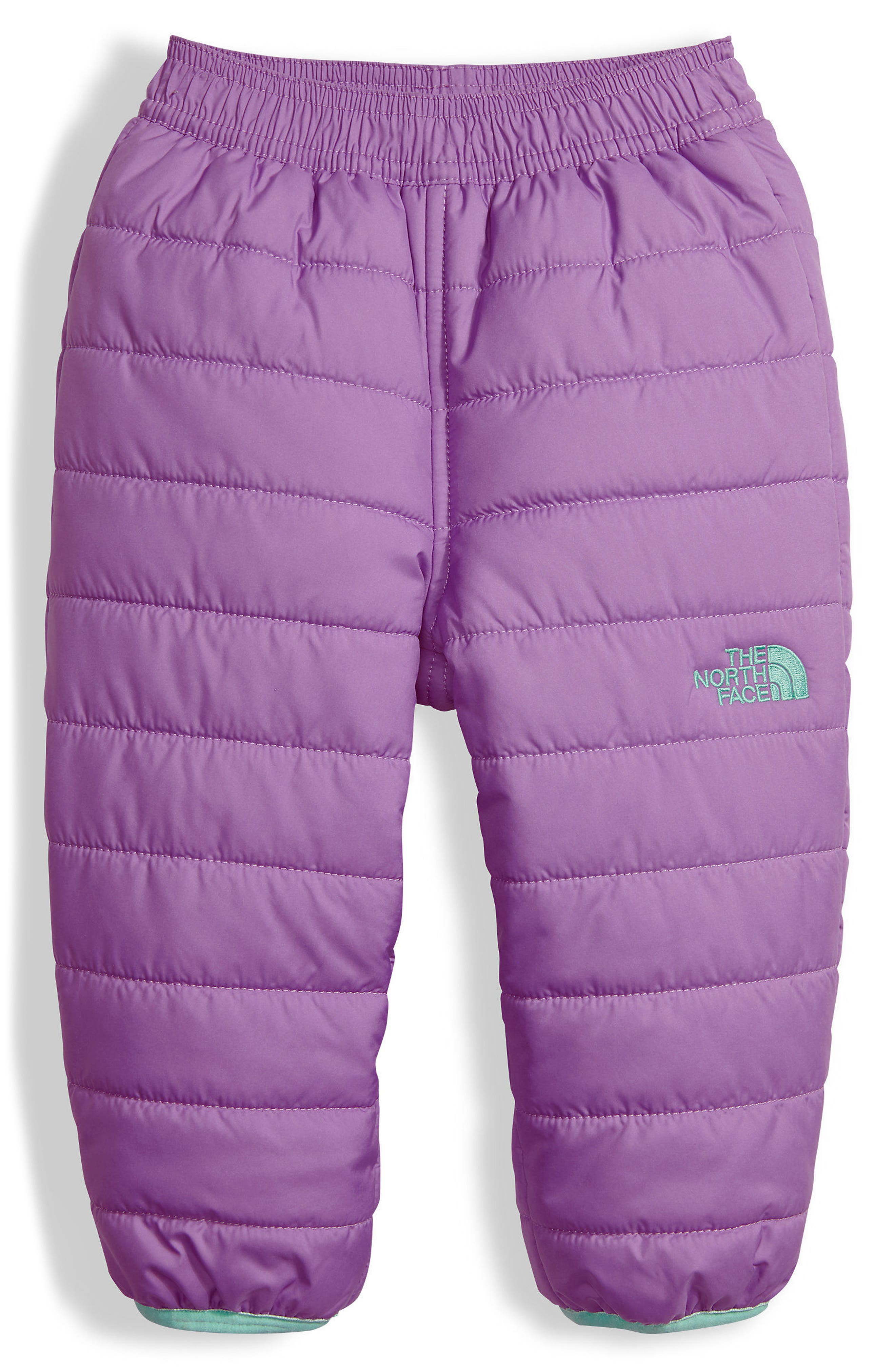 Perrito Reversible Water Repellent Insulated Snow Pants,                             Main thumbnail 1, color,                             Bellflower Purple