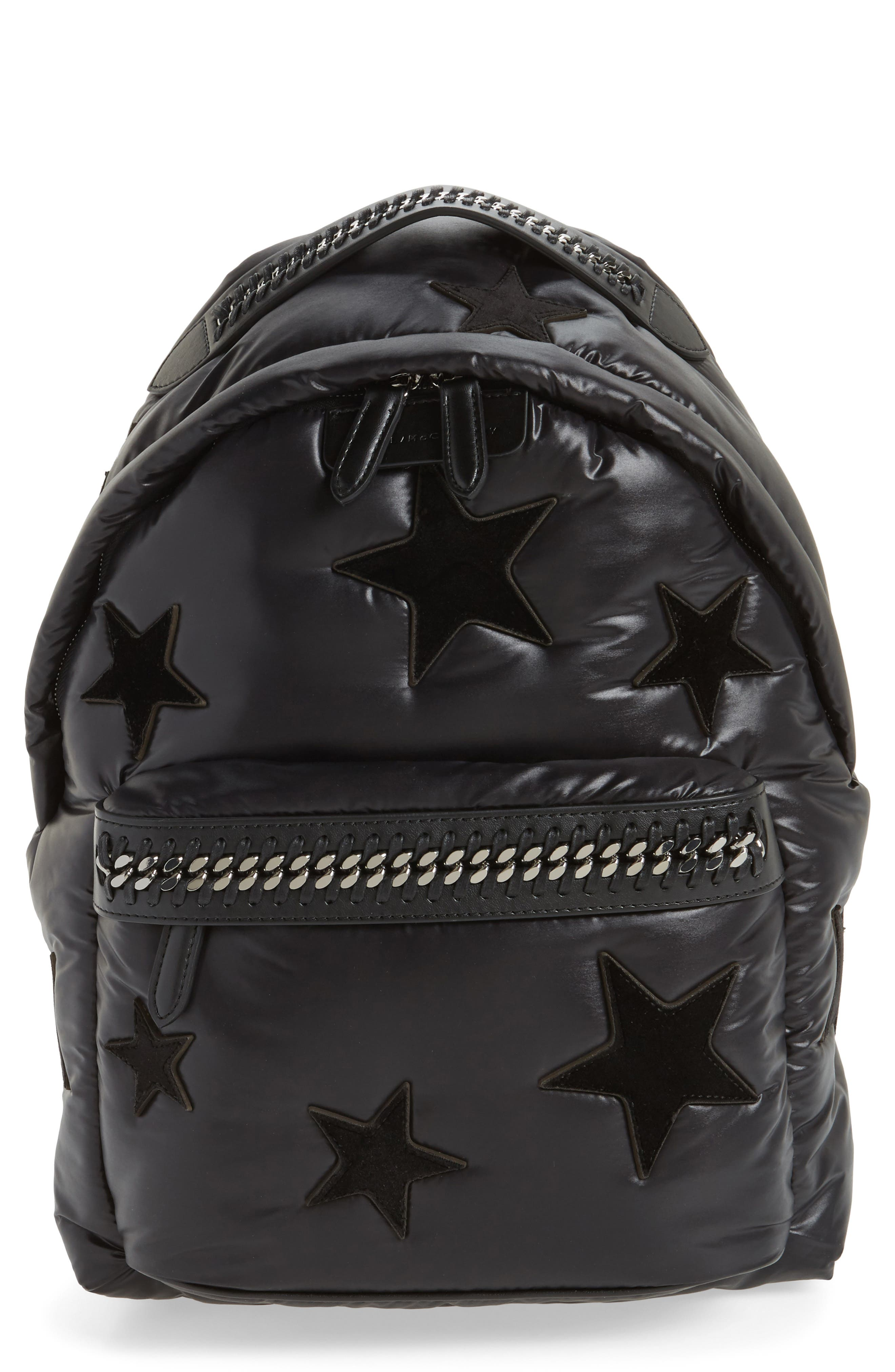 STELLA MCCARTNEY Falabella Go All Over Stars Backpack