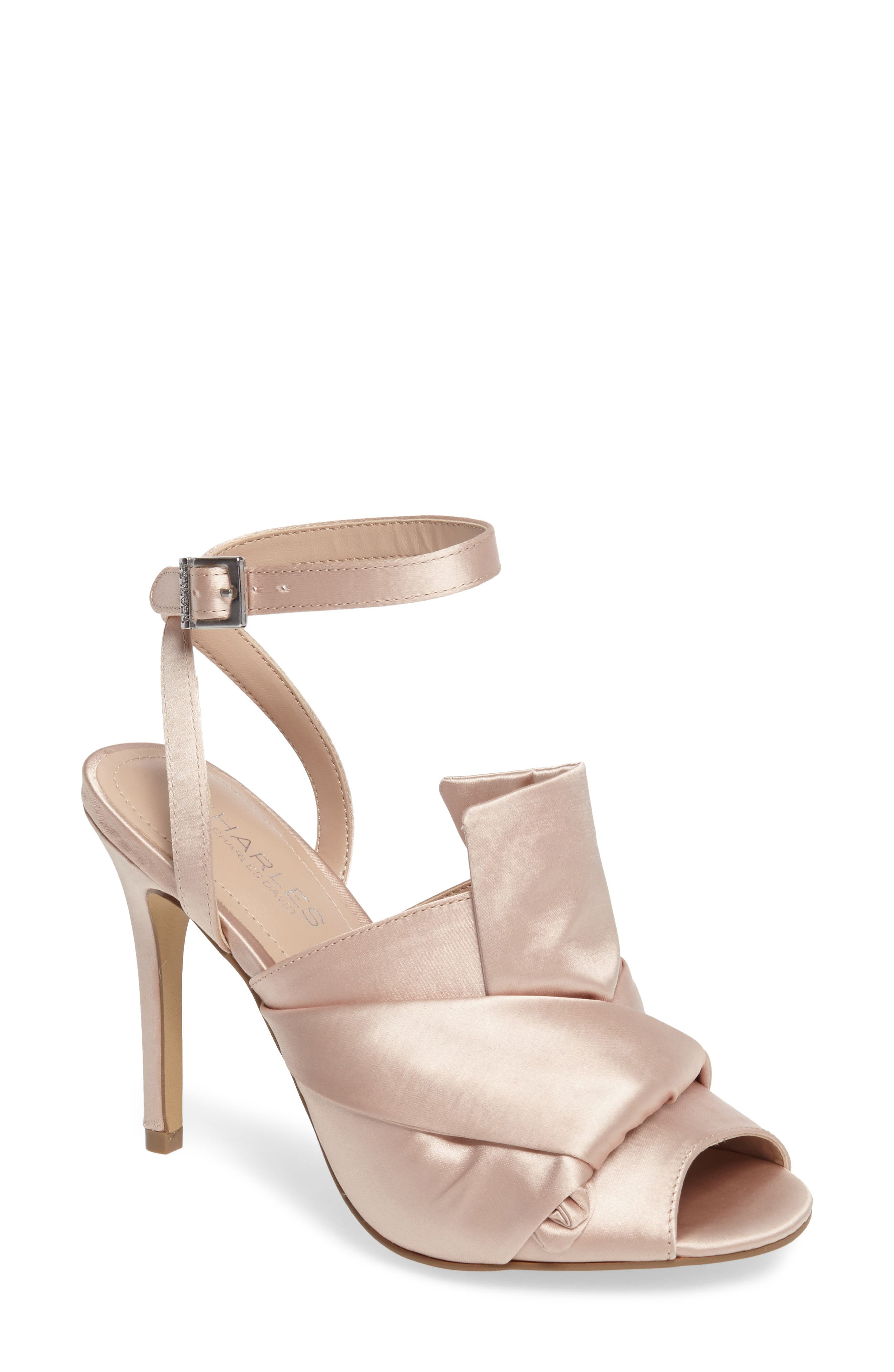 Alternate Image 1 Selected - Charles by Charles David Rachel Ankle Strap Sandal (Women)