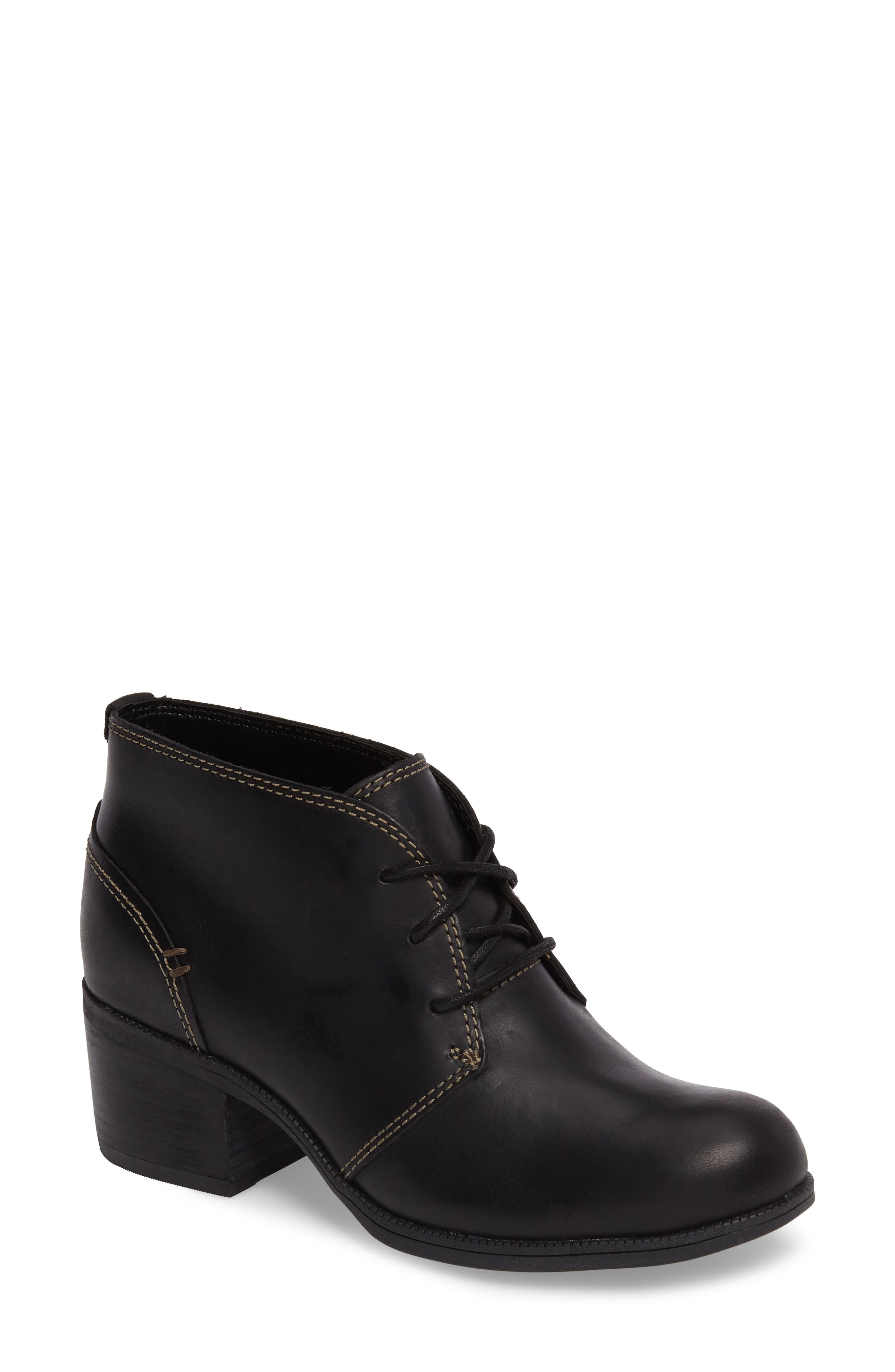 Alternate Image 1 Selected - Clarks® Maypearl Floral Boot (Women)