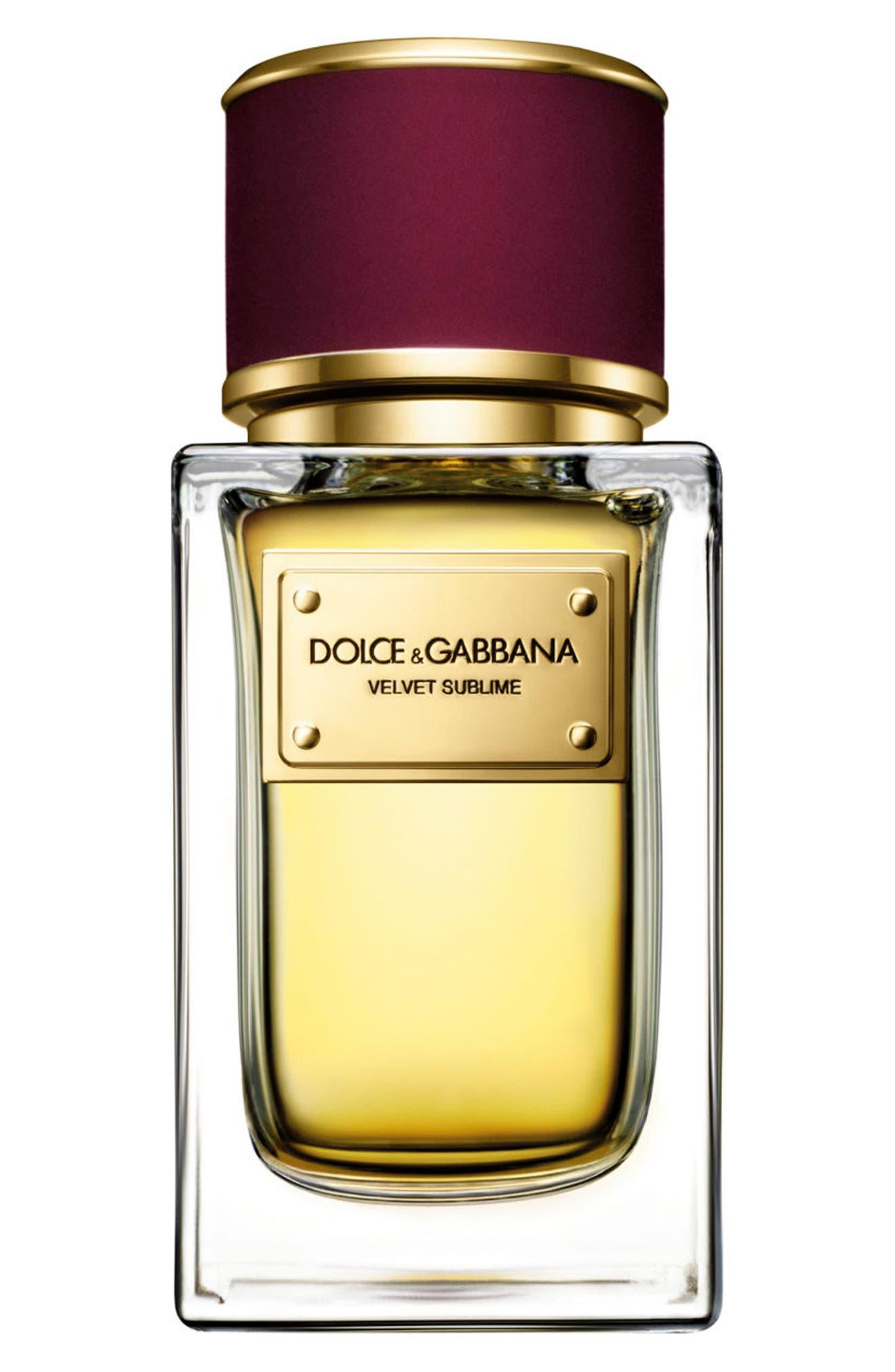 Alternate Image 1 Selected - Dolce&Gabbana Beauty 'Velvet Sublime' Eau de Parfum