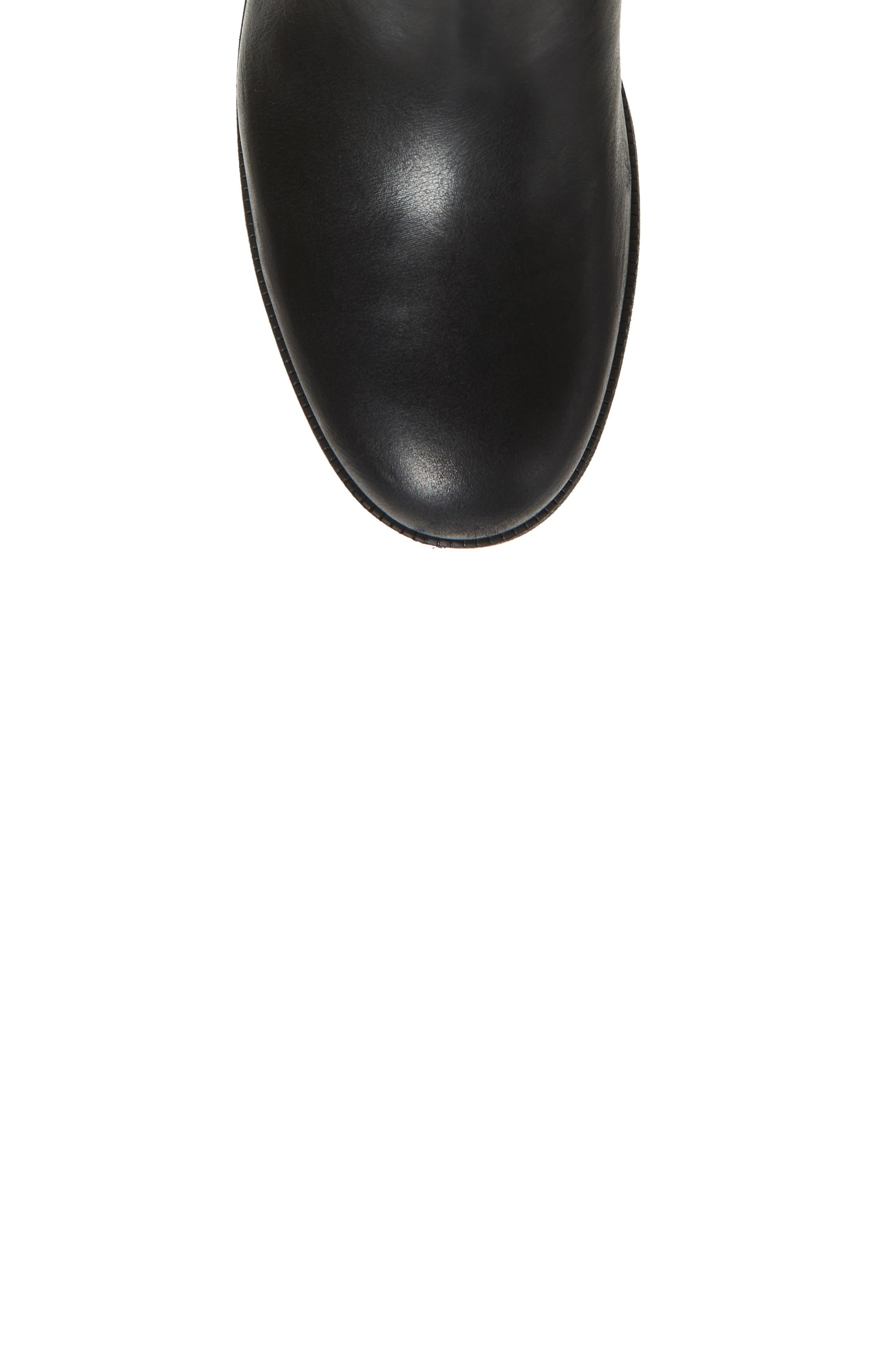 Maypearl Viola Boot,                             Alternate thumbnail 5, color,                             Black Leather