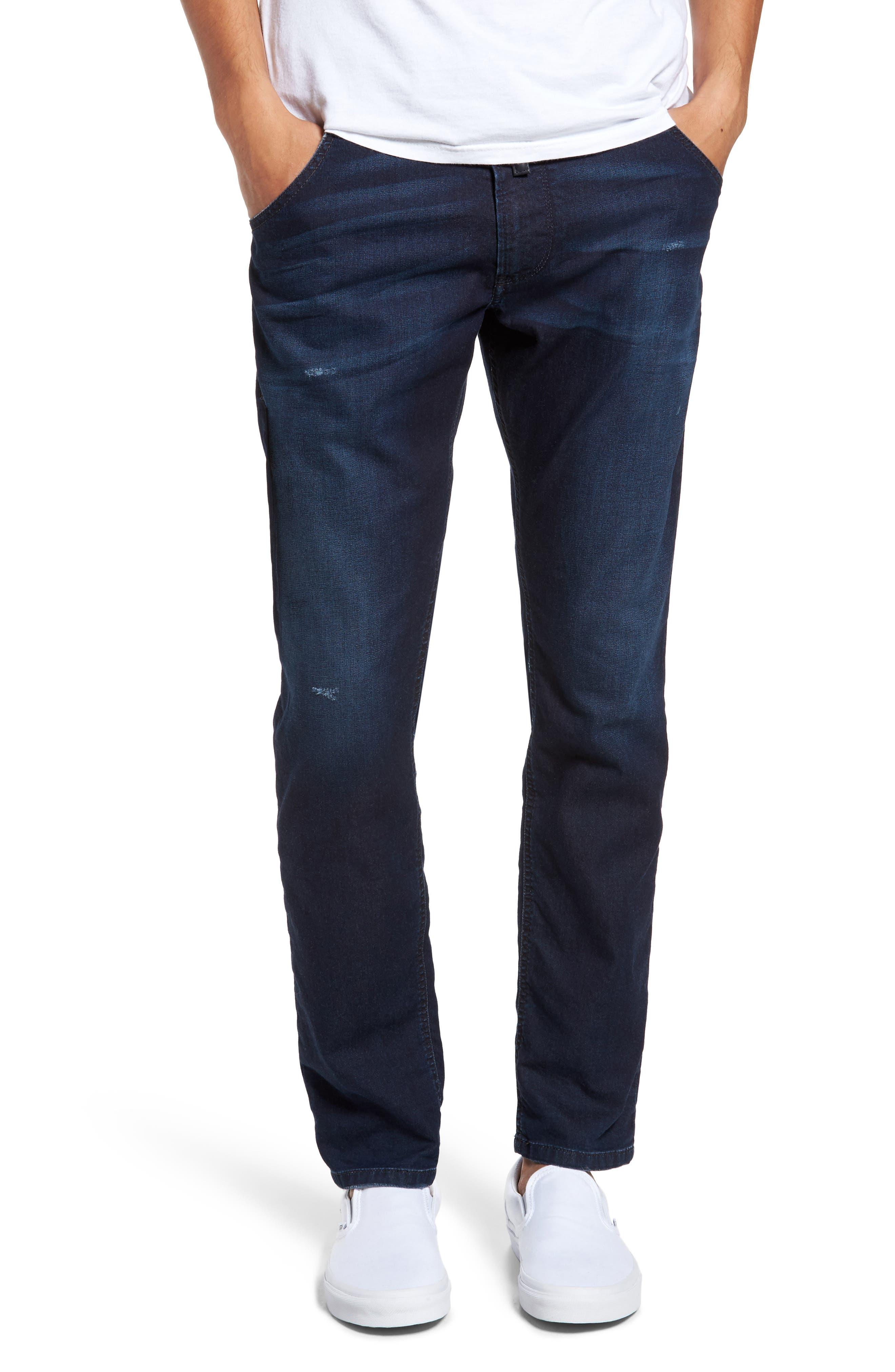 Krooley Slouchy Skinny Jeans,                         Main,                         color, Denim