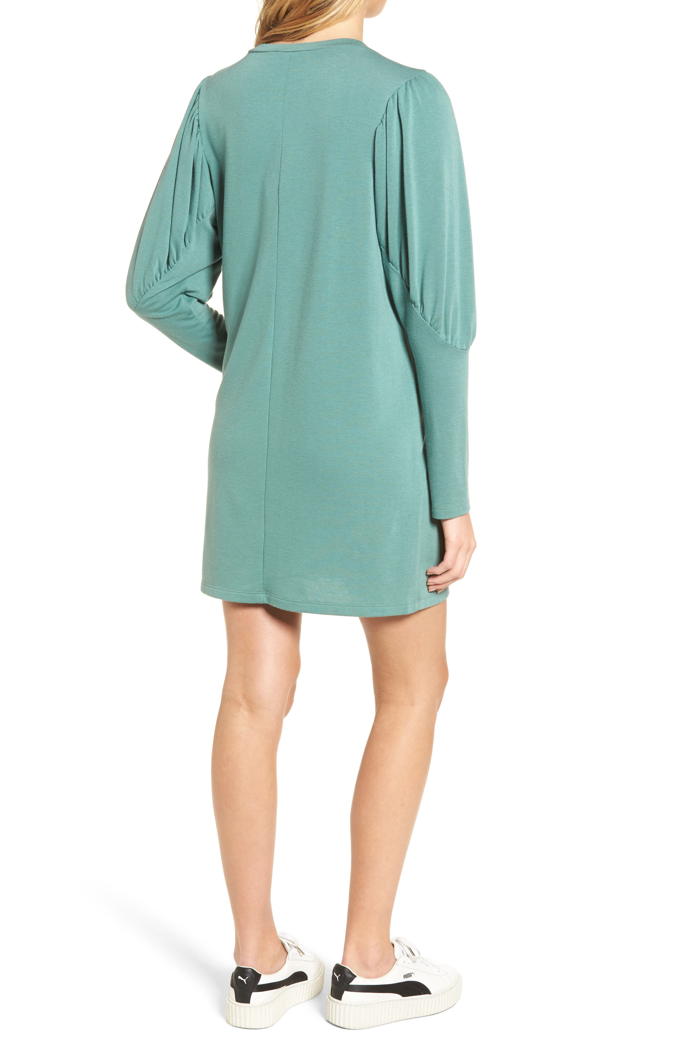 Alternate Image 2  - Everly Statement Sleeve Sweatshirt Dress