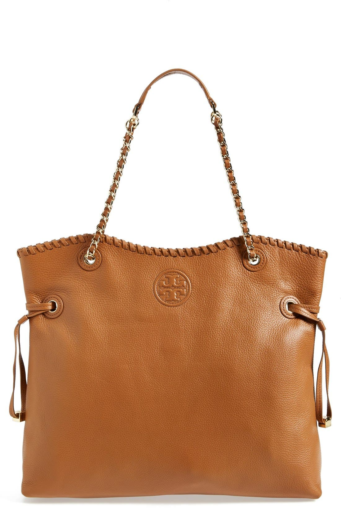 Alternate Image 1 Selected - Tory Burch 'Marion' Slouchy Tote
