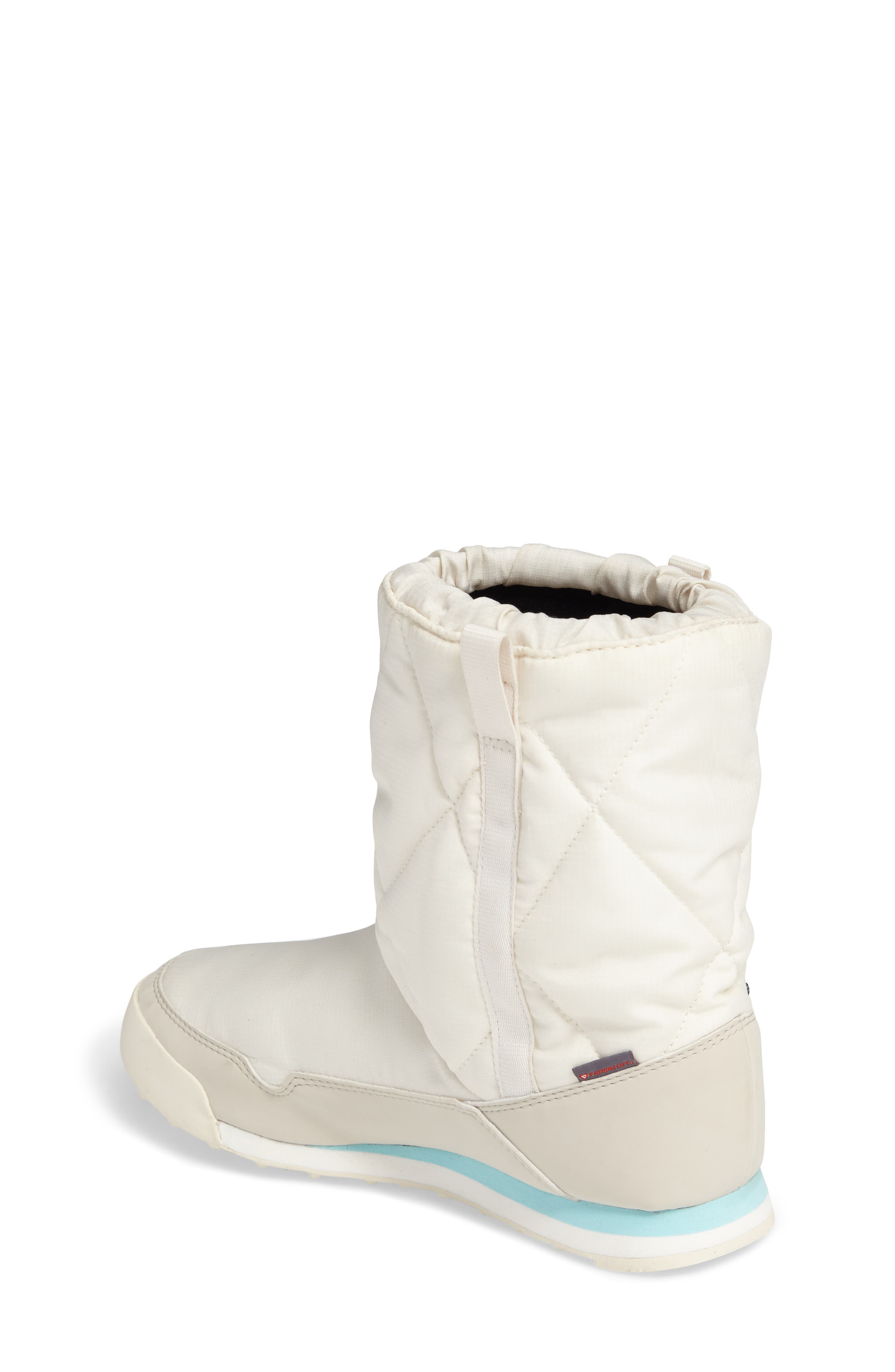 CW Snowpitch Insulated Waterproof Boot,                             Alternate thumbnail 2, color,                             Chalk White/ Clear Brown/ Aqua