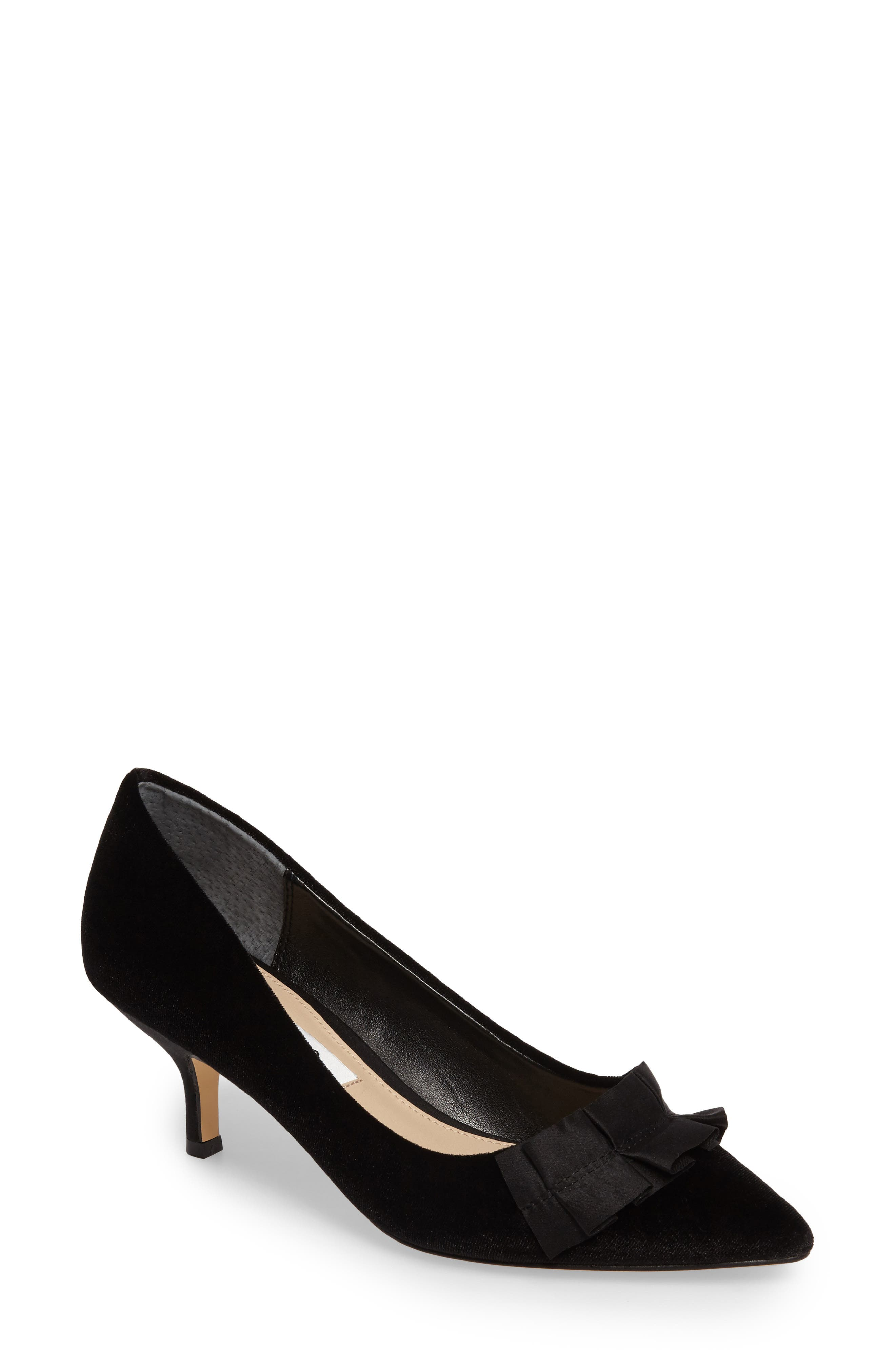 Alternate Image 1 Selected - Nina Thea Pointy Toe Pump (Women)